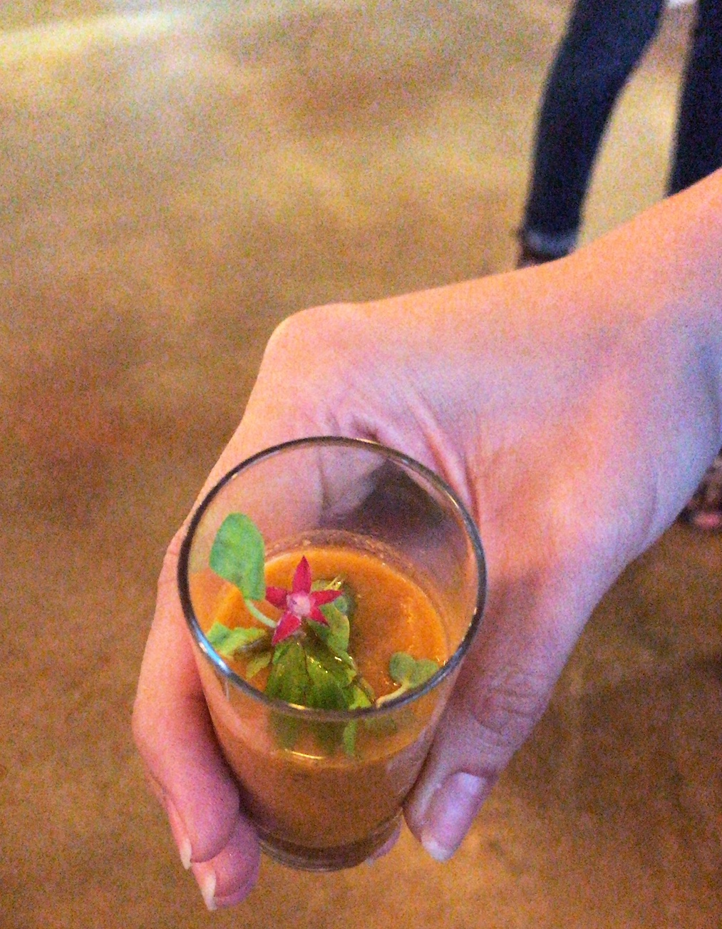 Sustainable Supper Club Gazpacho