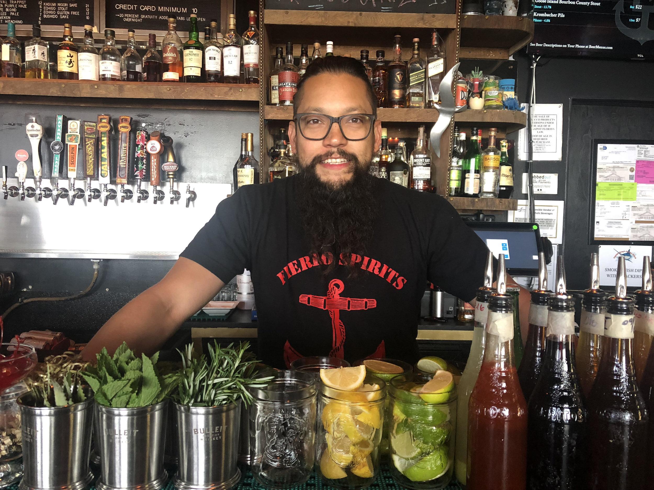 south beach seafood festival bartenders