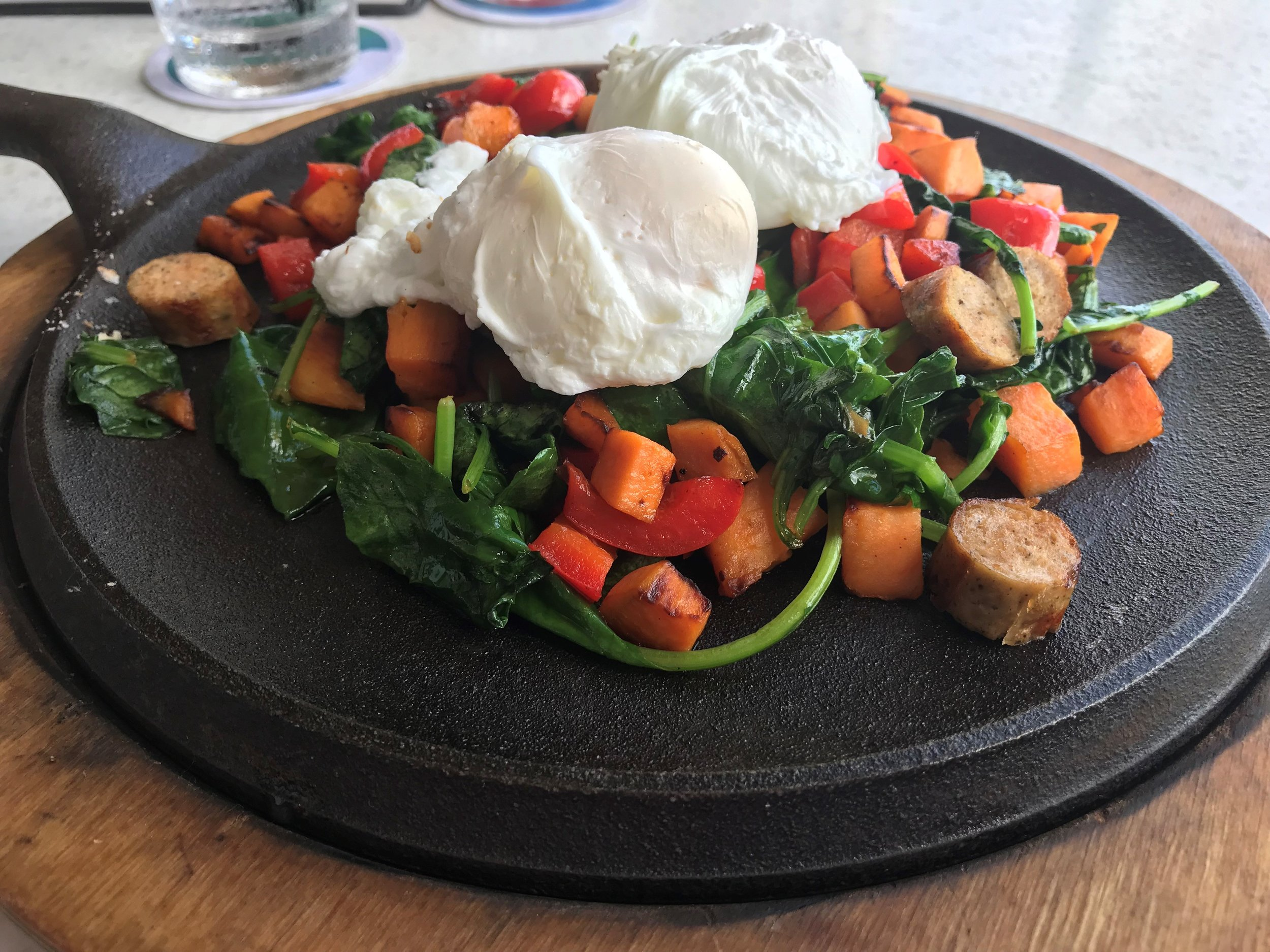 Oceans 234 Deerfield Beach sweet potato hash