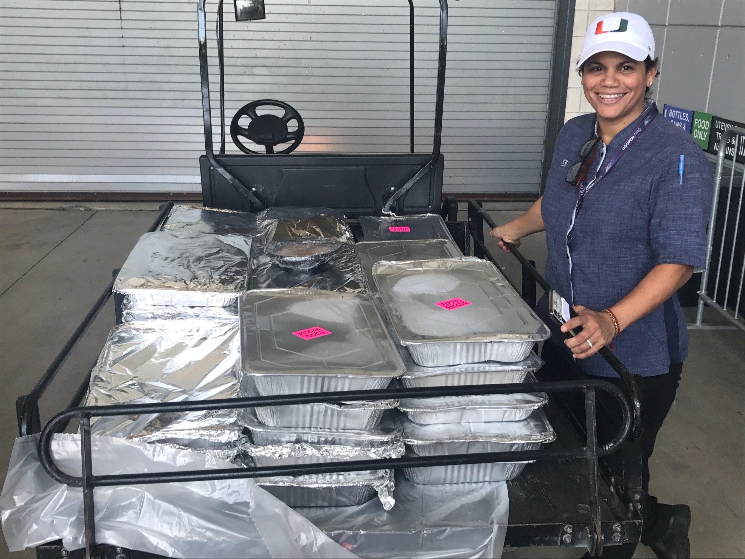 Chef Dayanny Hard Rock Stadium Food Rescue Miami