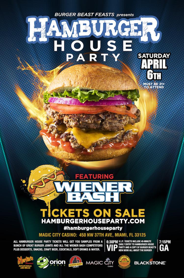 Burger Beast presents Hamburger House Party 2019