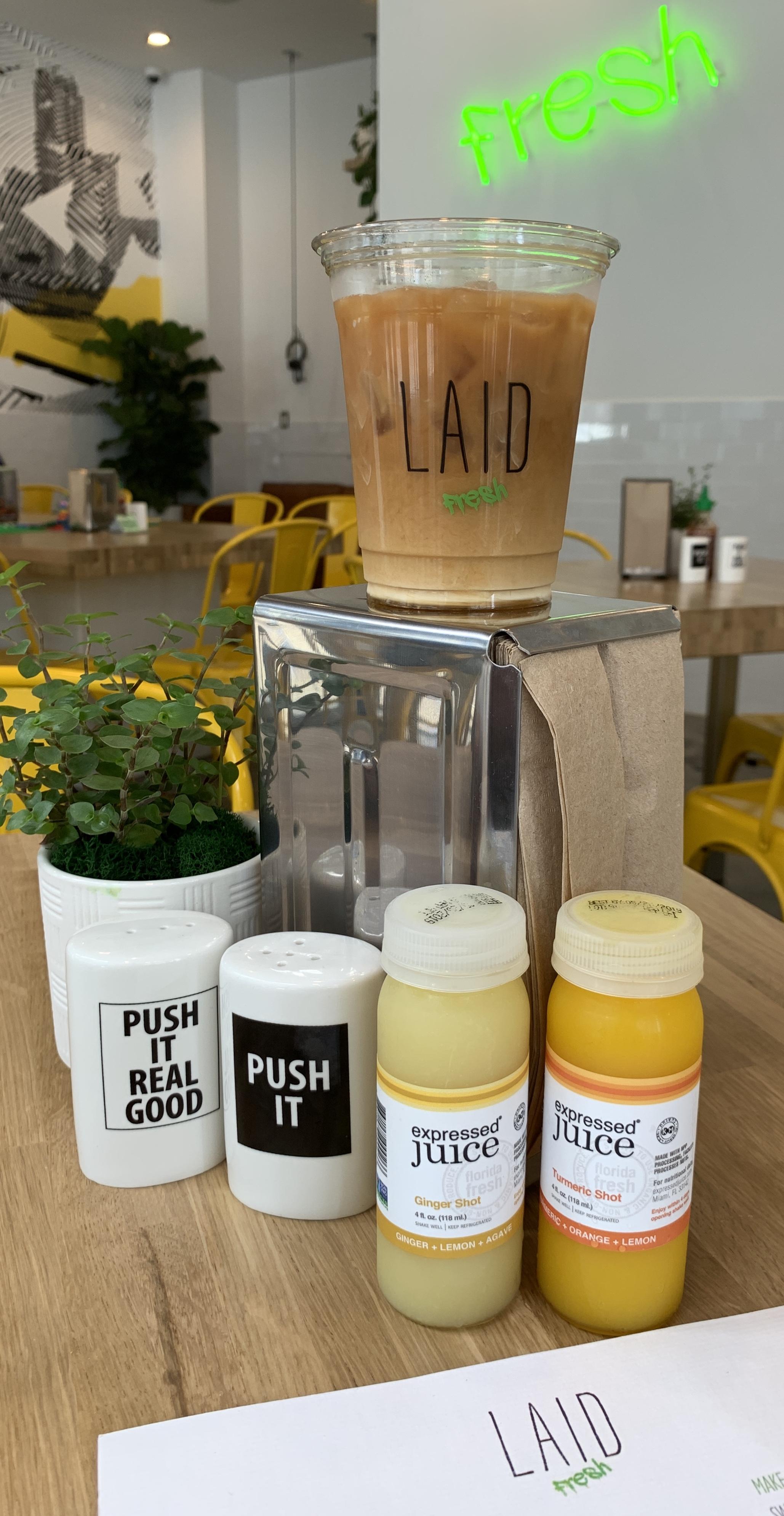 LAID Fresh Beverages