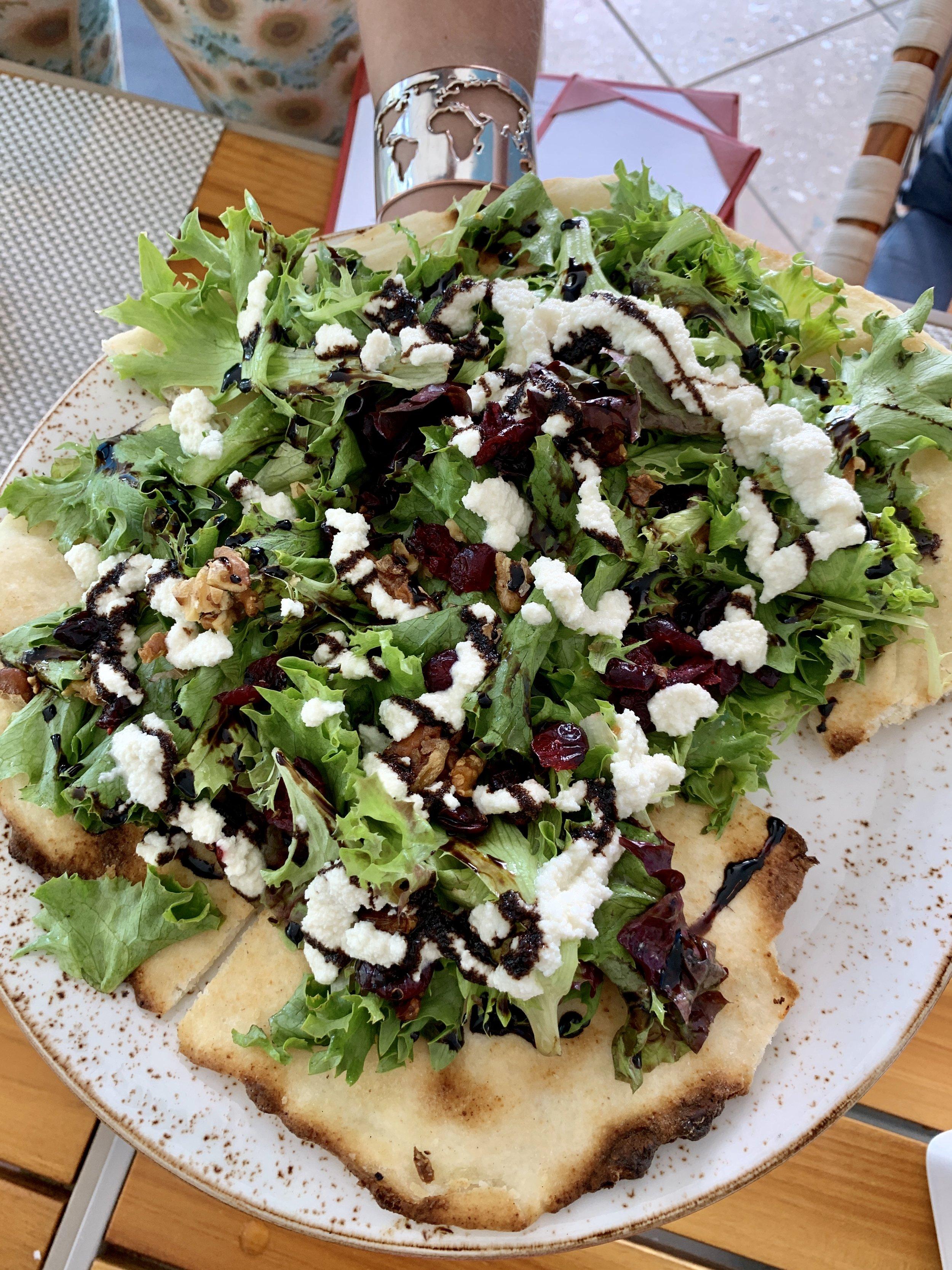 The Strand Miami Beach Carillon Gluten Free Vegan pizza
