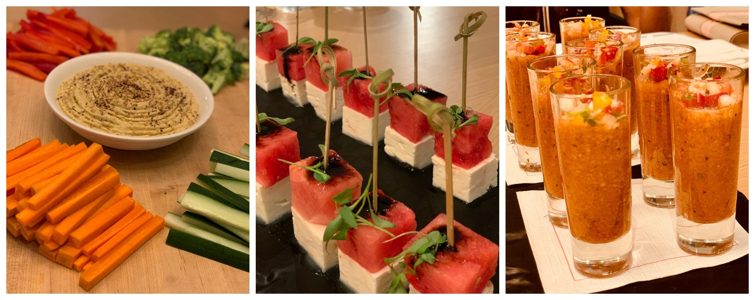 The Strand Carillon Miami Beach appetizers