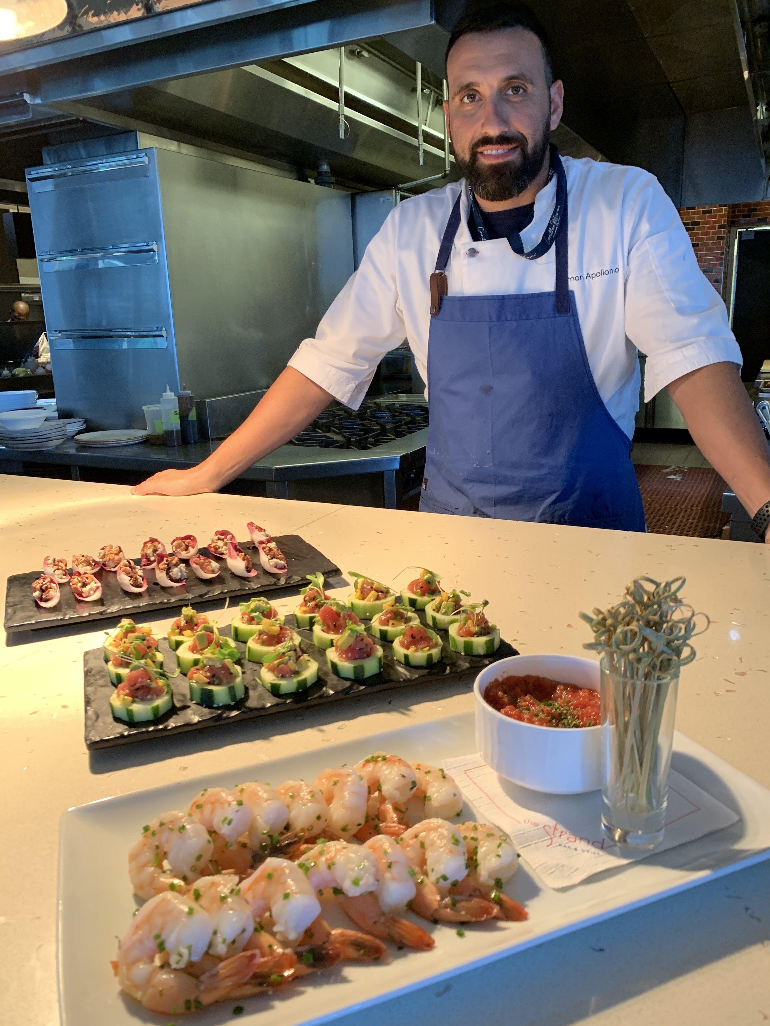 Chef Simon Appolino at The Strand Miami