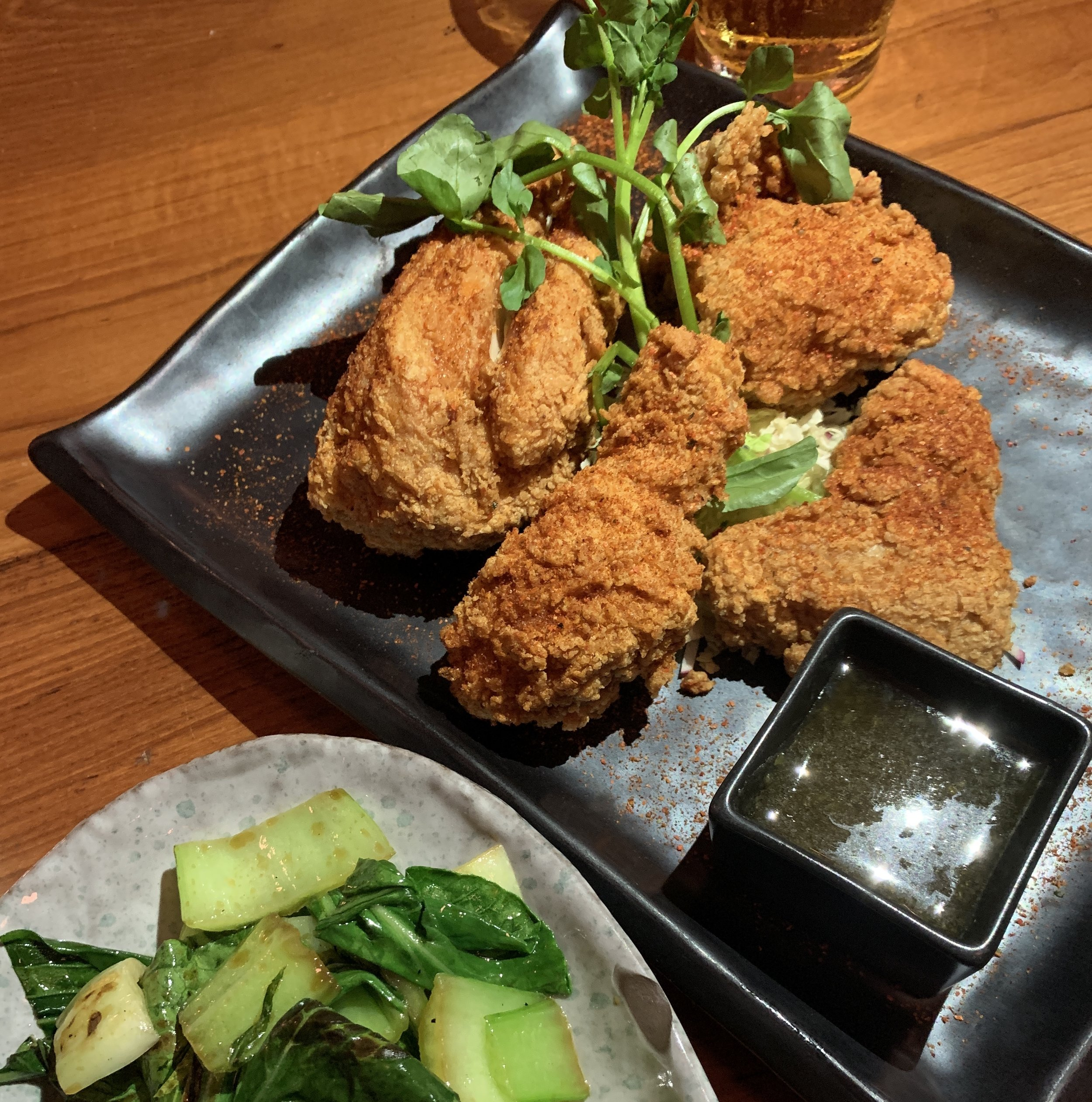 Blue Ribbon Sushi Fried Chicken