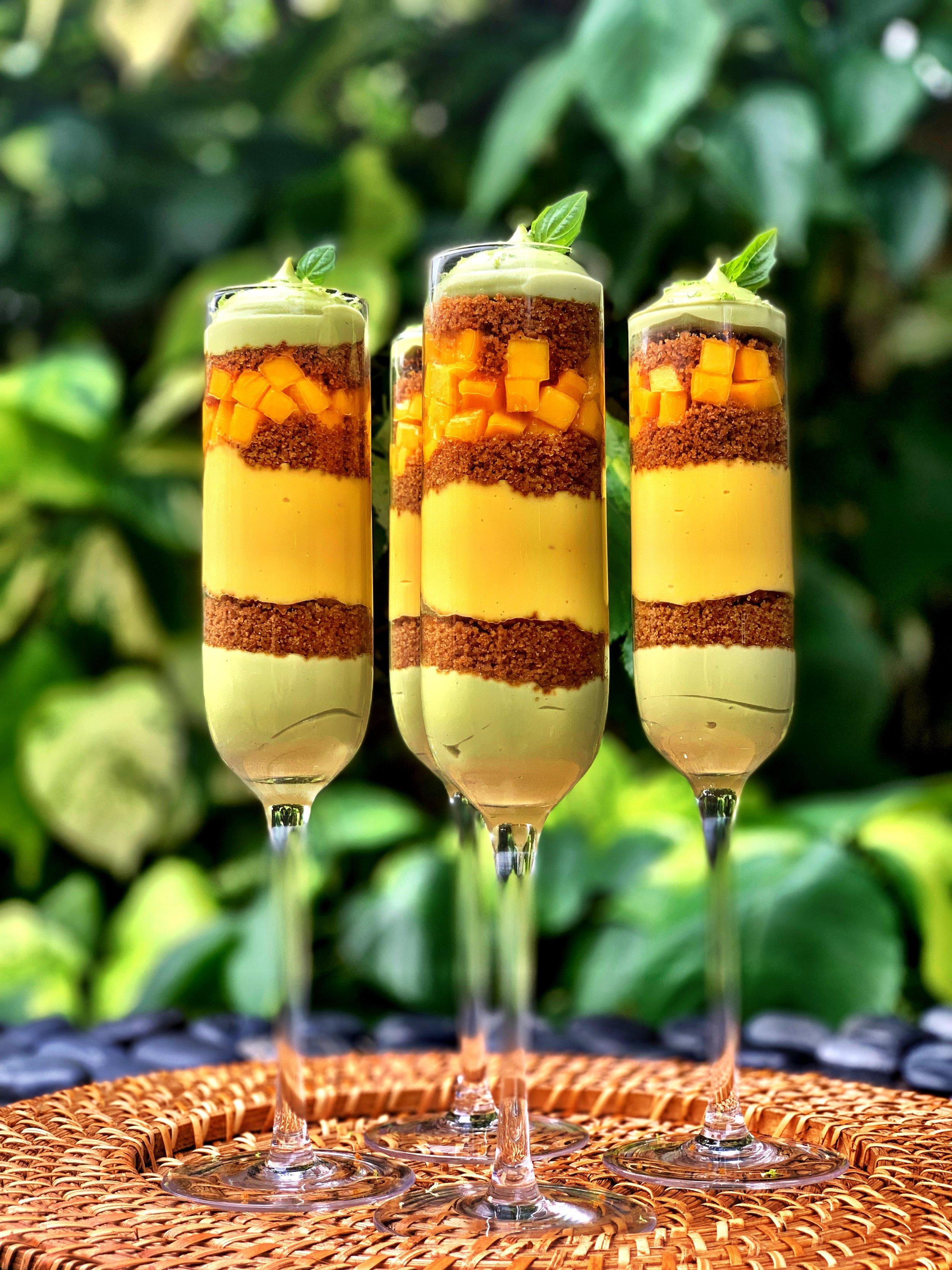 Mango Parfait via Chef Todd Erickson