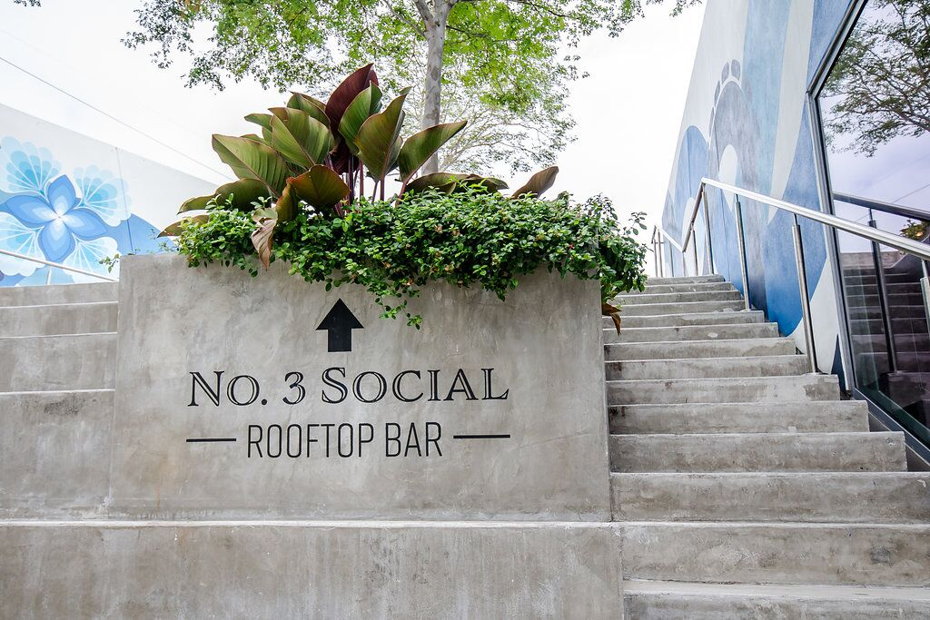 No. 3 Social Rooftop bar