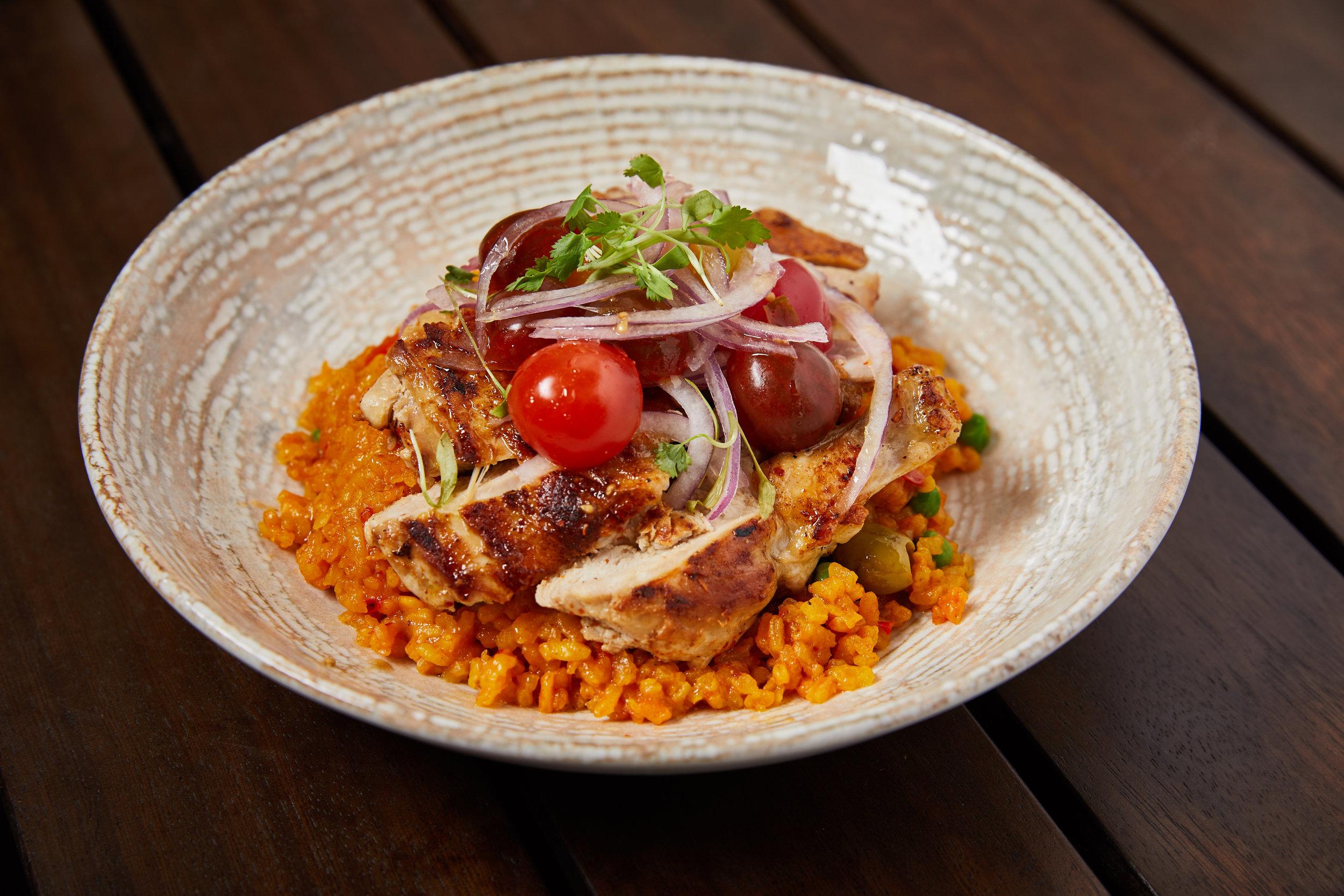 Cafe la Trova Arroz con pollo Miami Spice