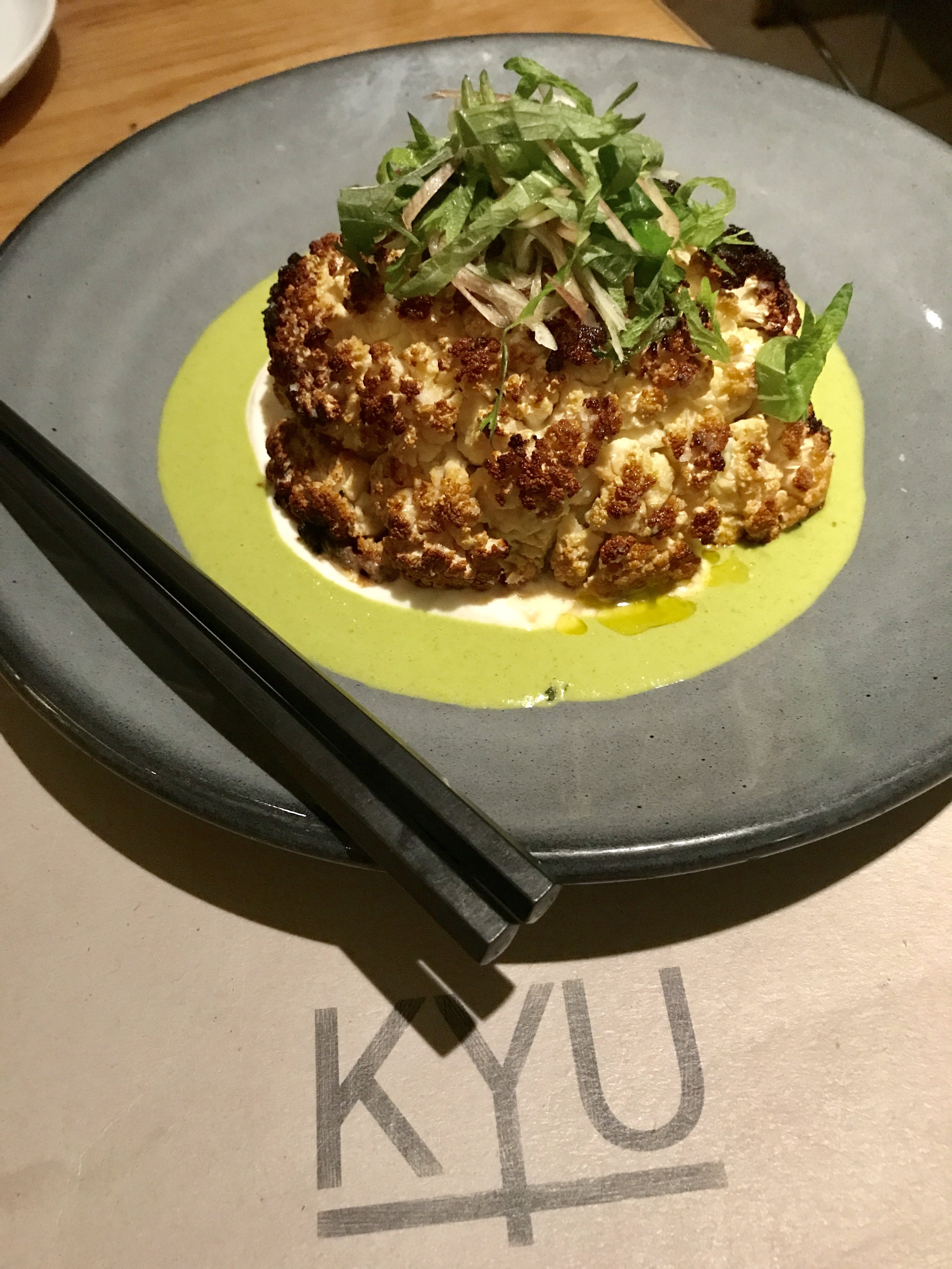 KYU Cauliflower Miami Spice