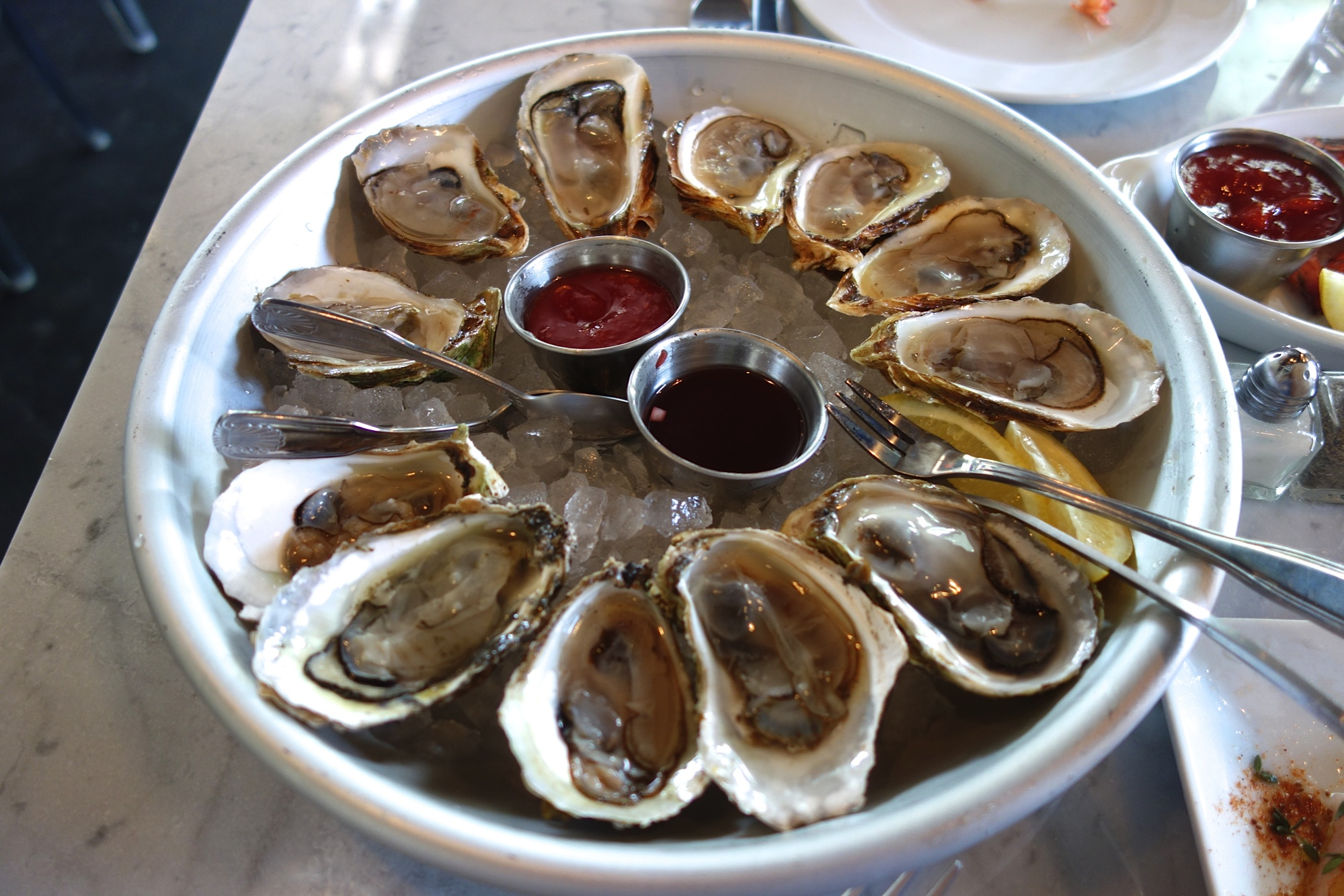 Mignonette Miami Oysters National Oyster Day