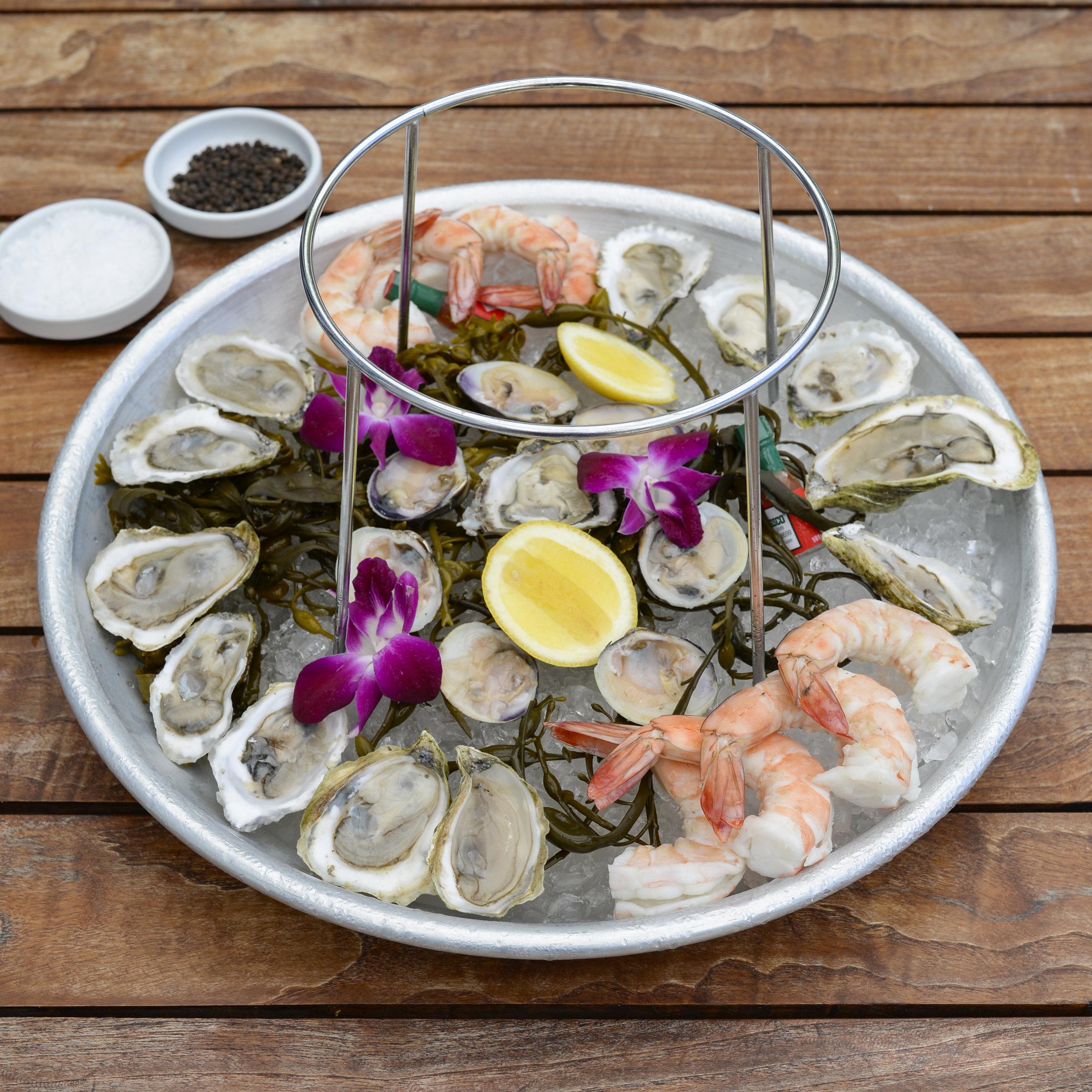 Lure Fishbar Loews Miami Beach Oysters