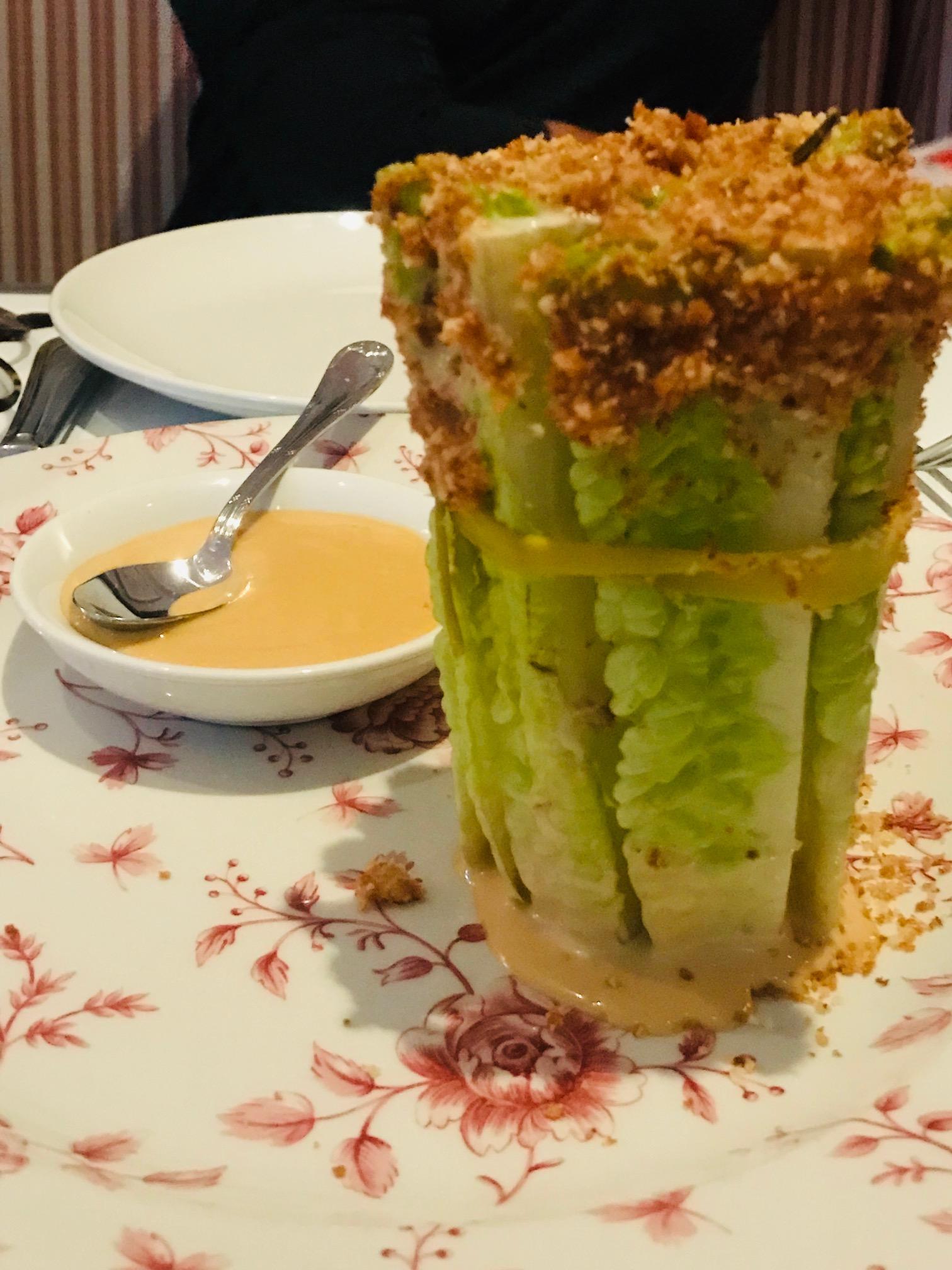 Swan Caesar Salad Miami Spice