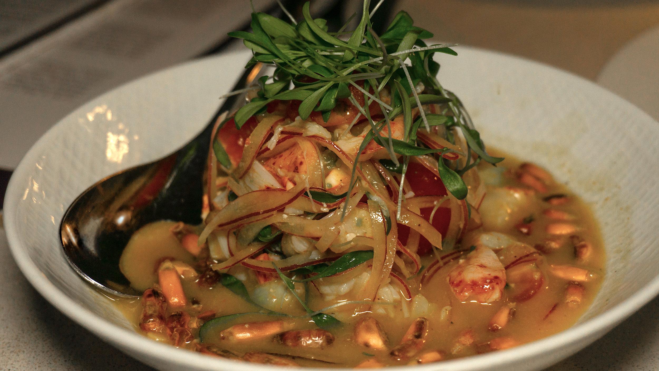 Juvia Miami Beach Lobster Ceviche