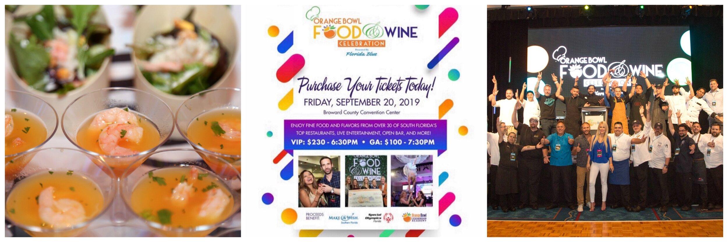Orange Bowl Food and Wine Festival 2019