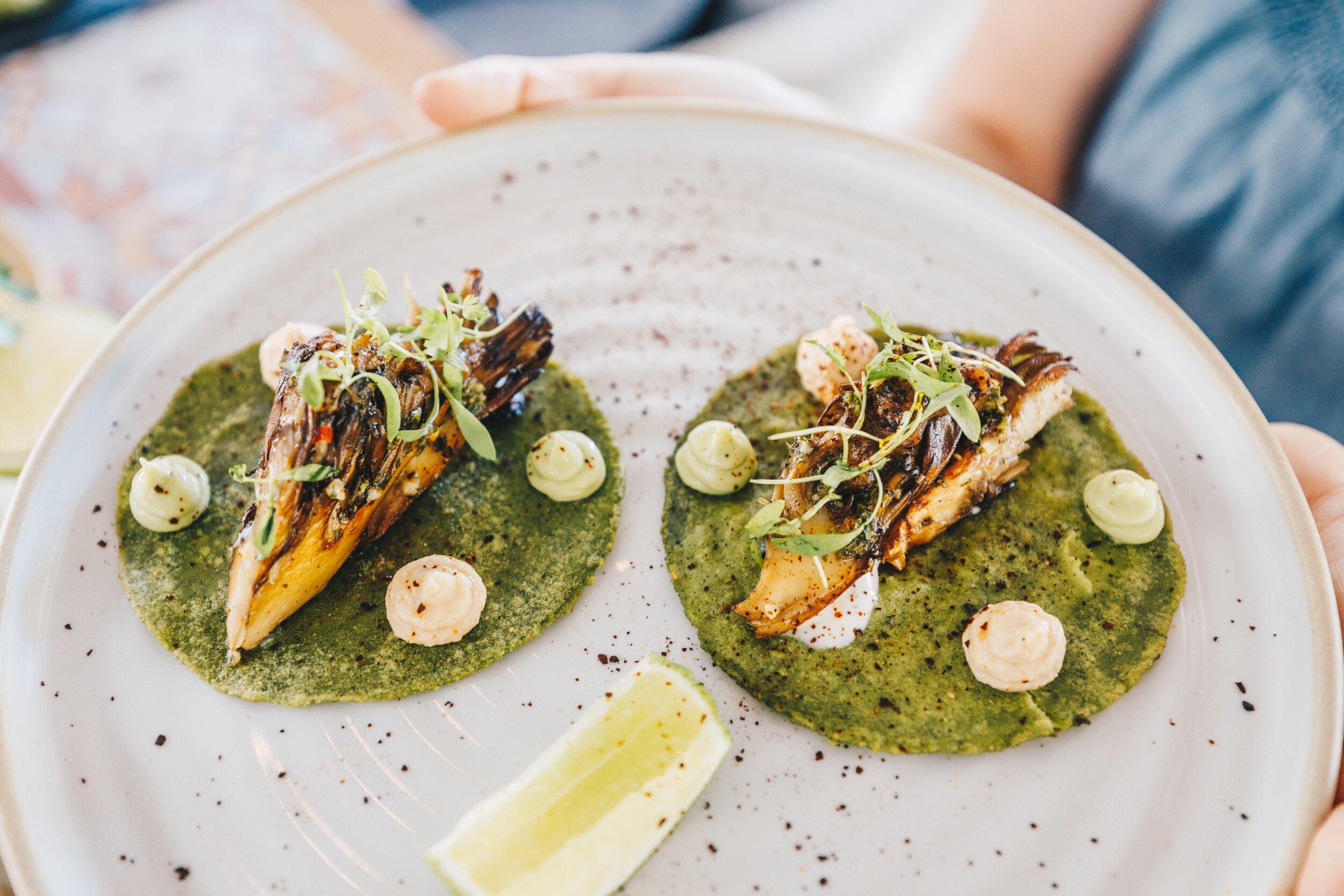Diez y Seis Shore Club Miami Beach Veggie Tacos