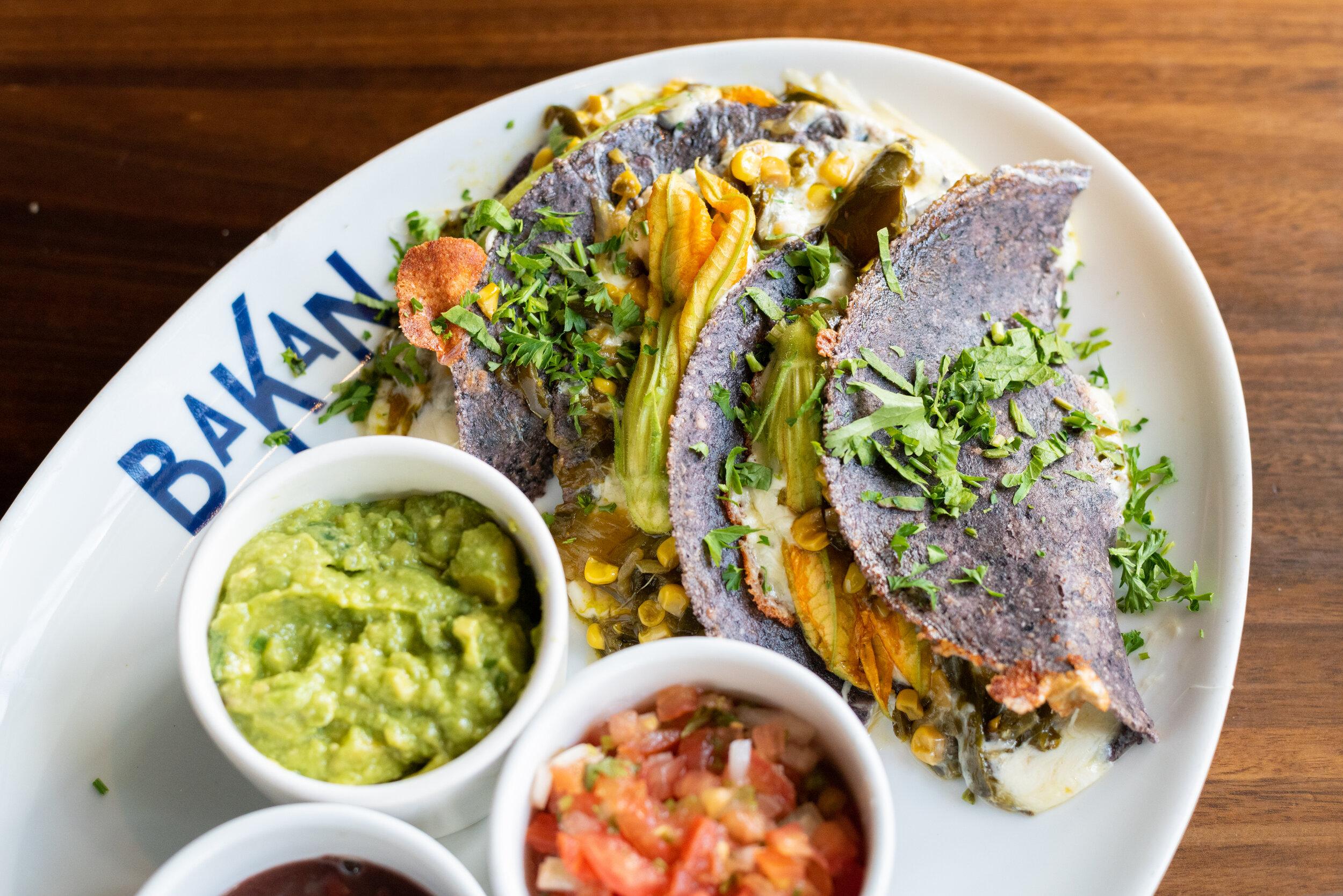Bakan Wynwood Veggie Tacos
