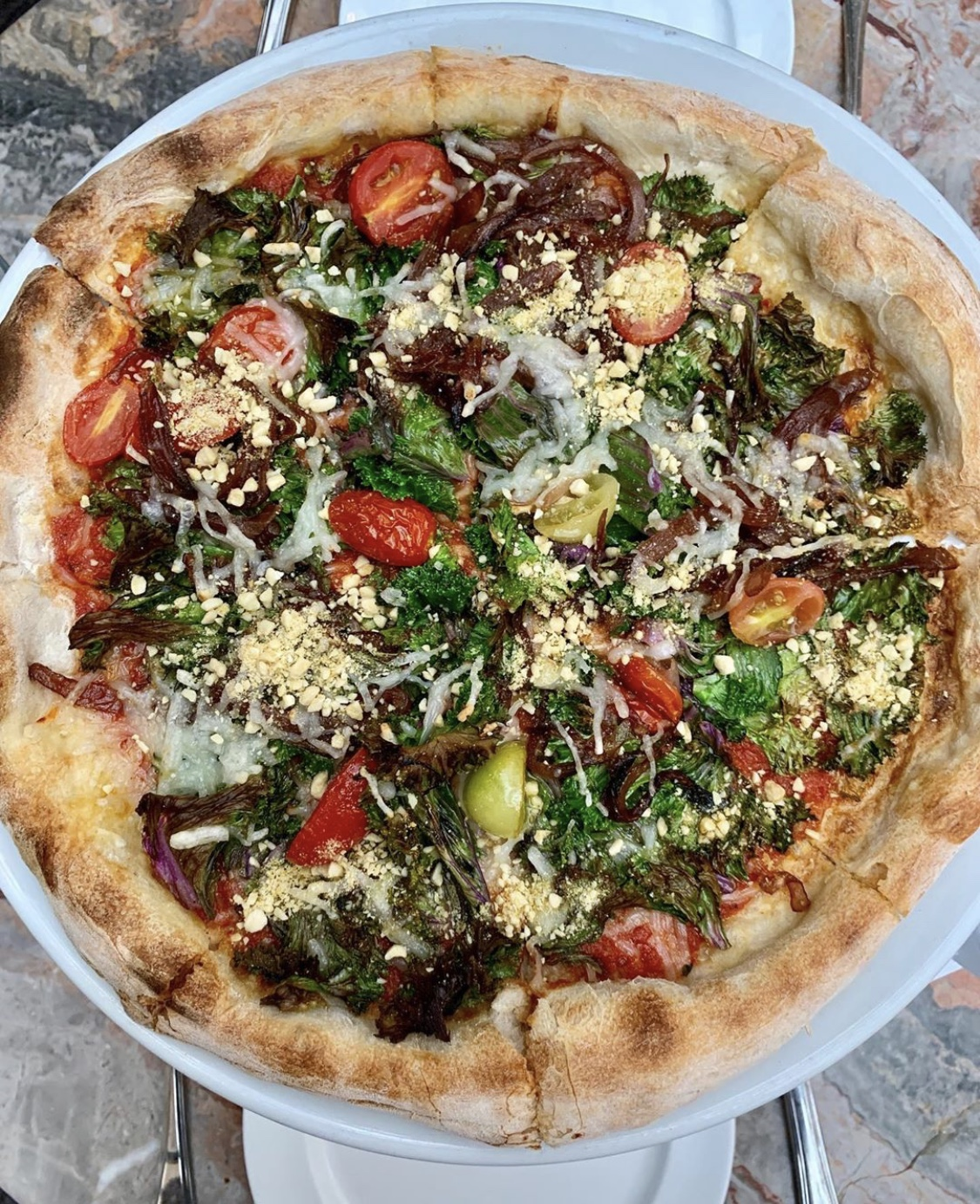 Cecconis Gluten Free Vegan Pizza