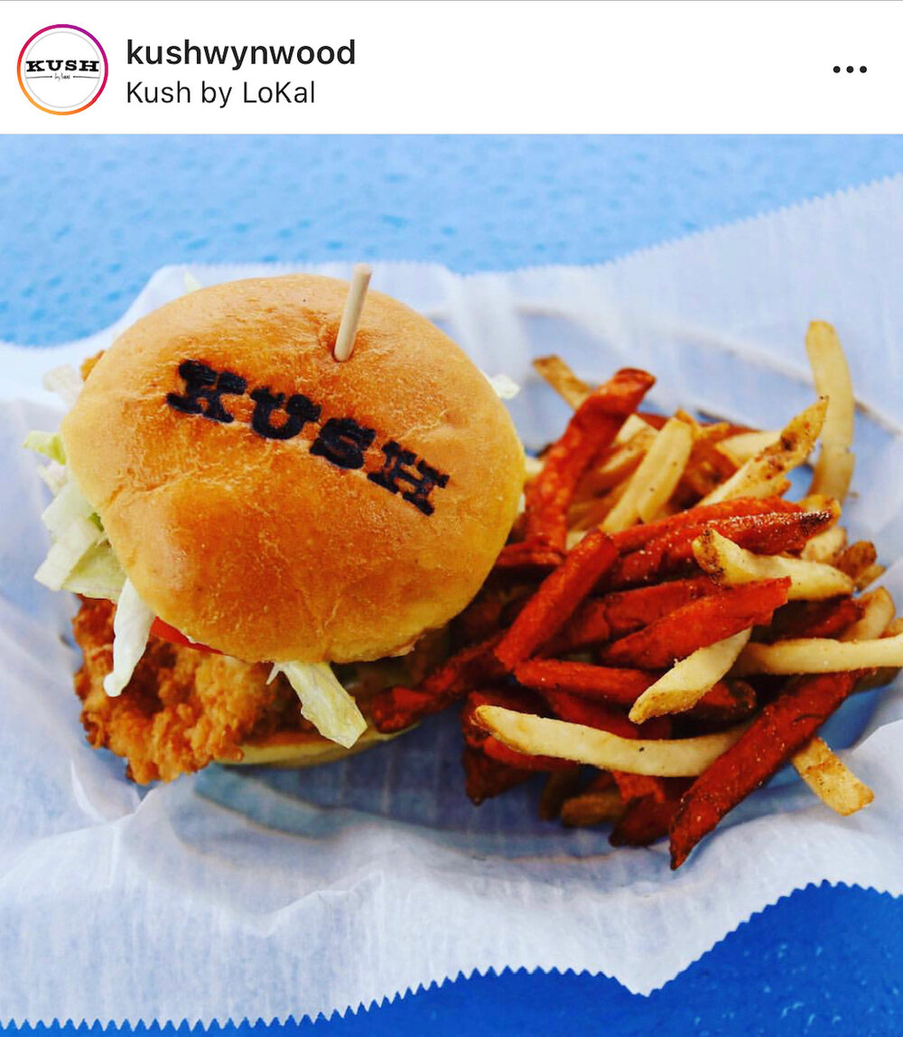 Kush burger Miami
