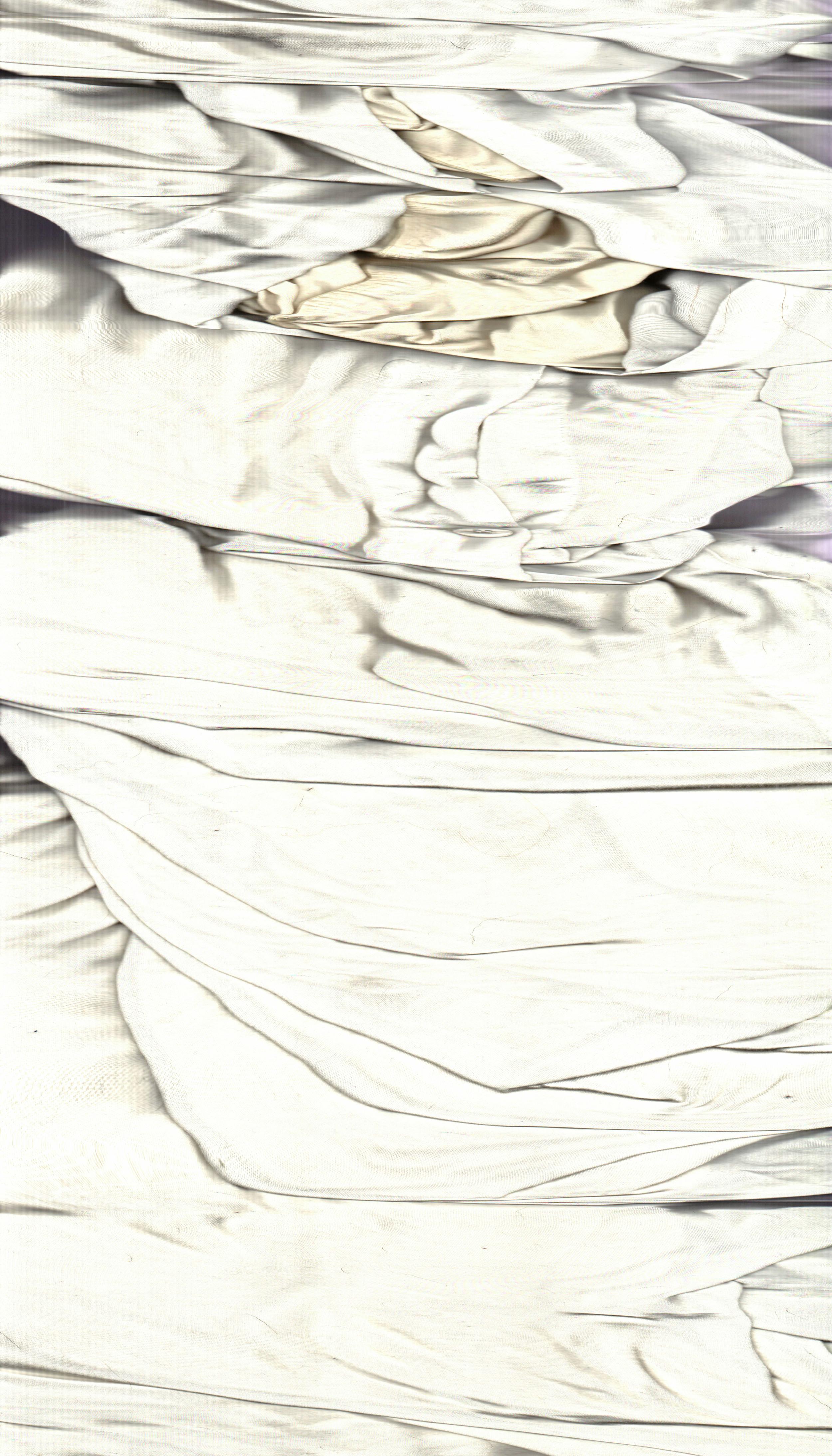 "Broke Down Frames , 2015  Archival Digital Prints, Waxed Linen Thread  32"" x 61"""