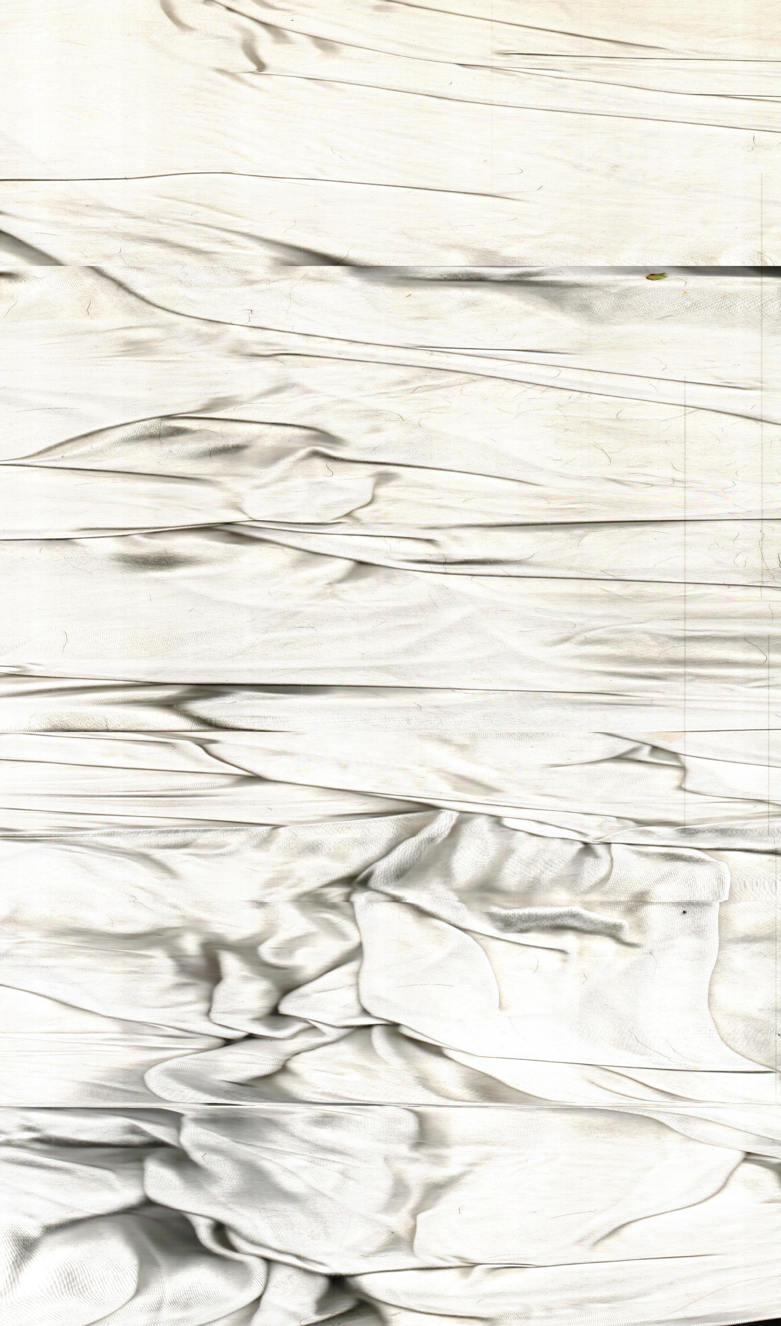 "Broke Down Frames , 2015  Archival Digital Prints, Waxed Linen Thread  32"" x 54.5"""