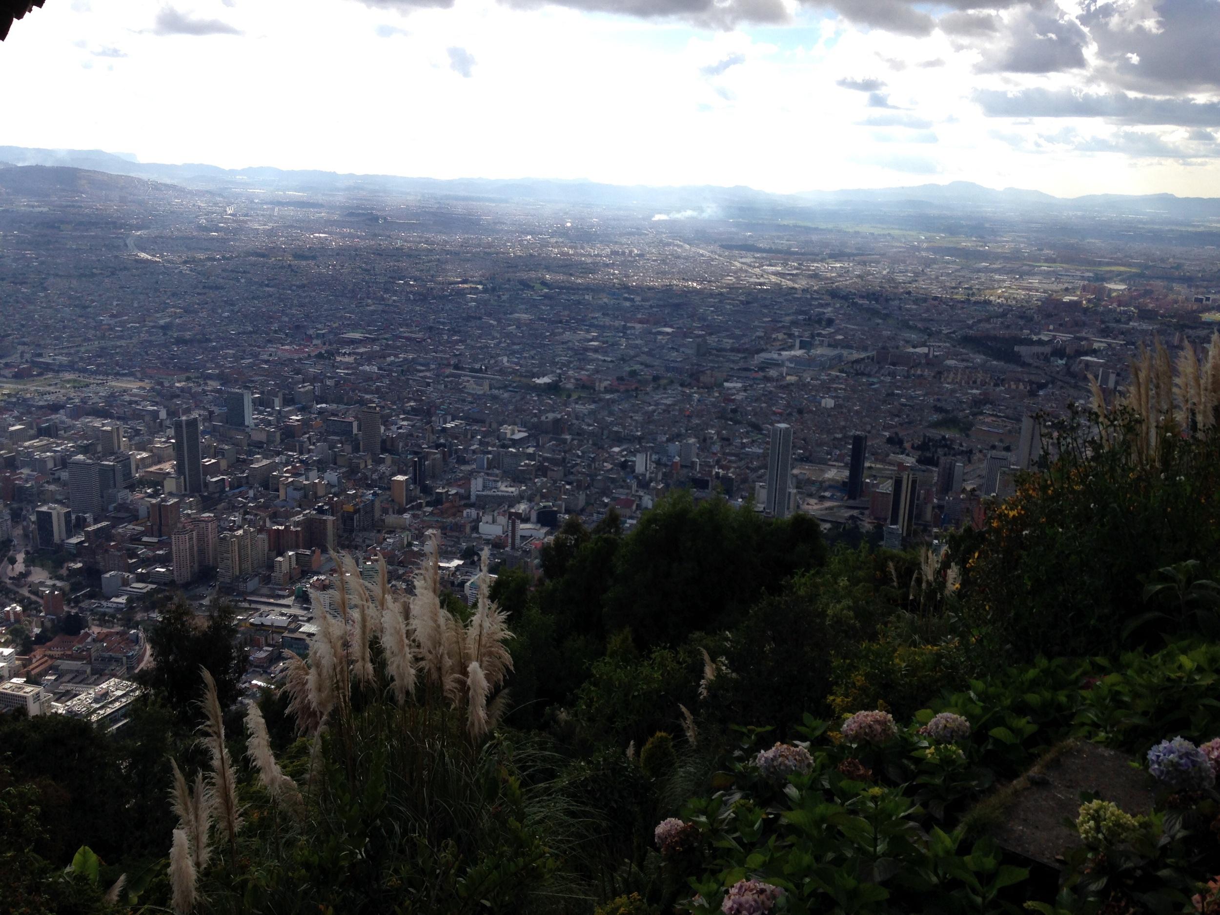 Bogota from Montserrat