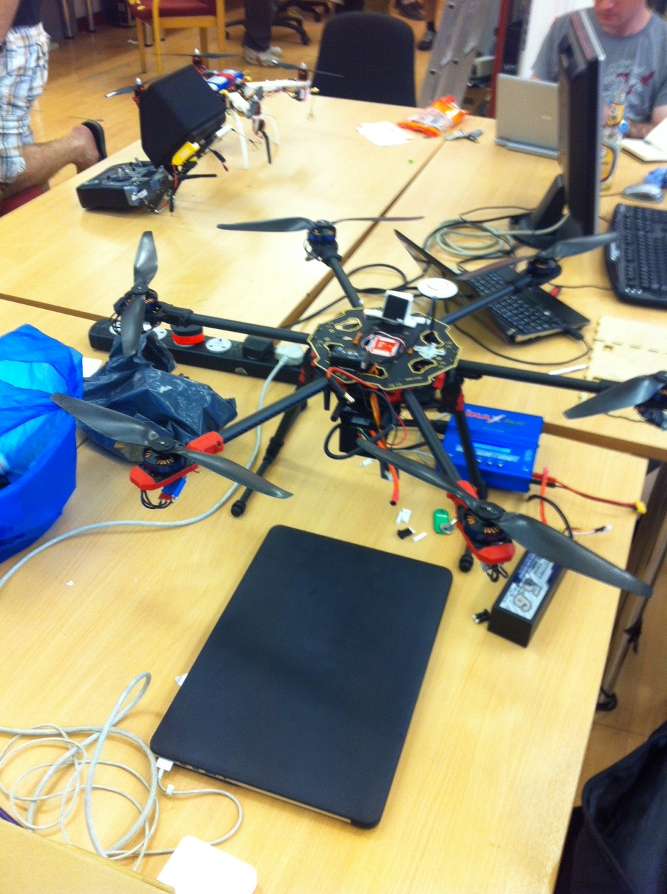 Build - a remote controlled hexopter