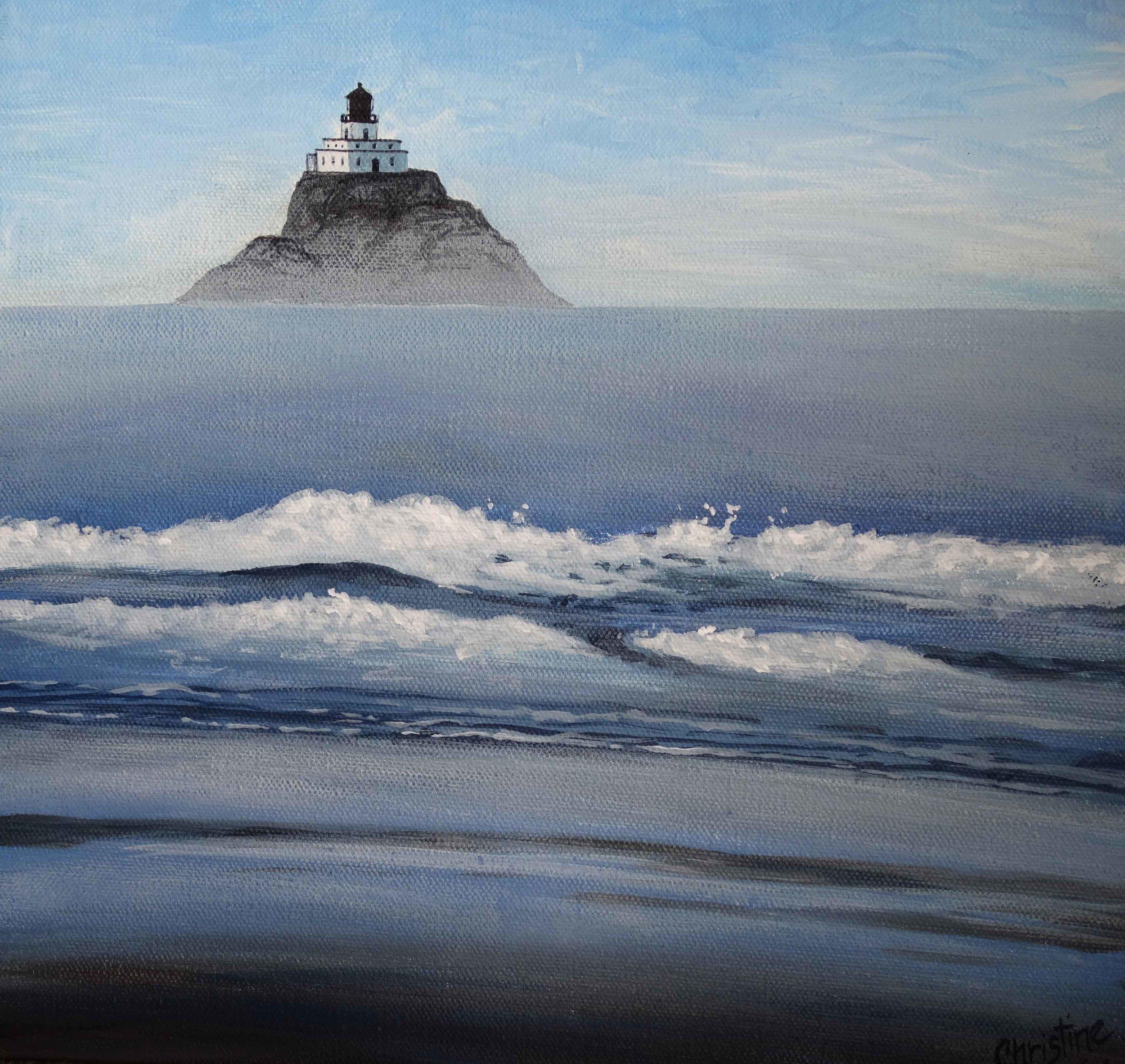 Lighthouse At Cannon Beach