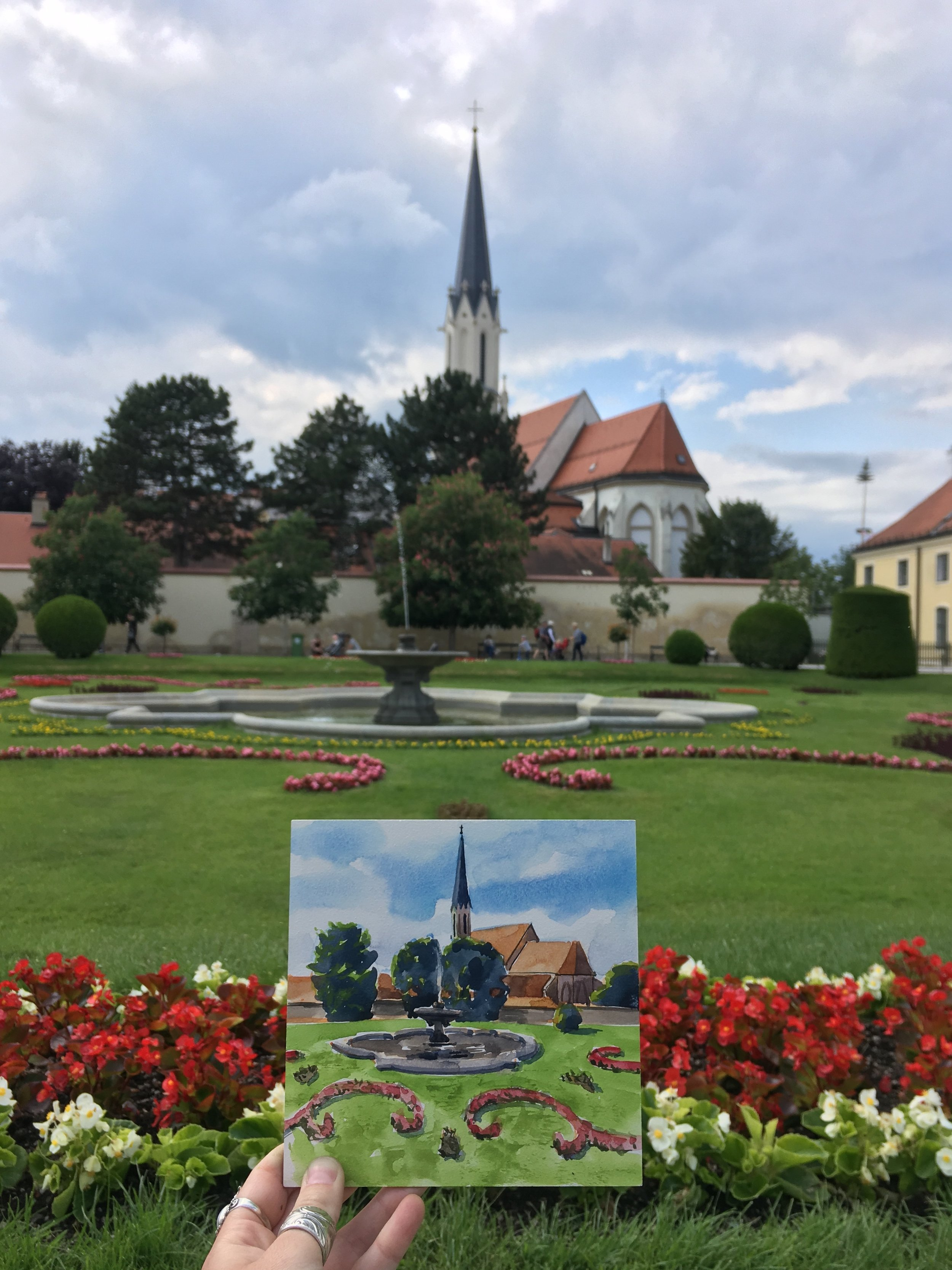 Steeple in Austria