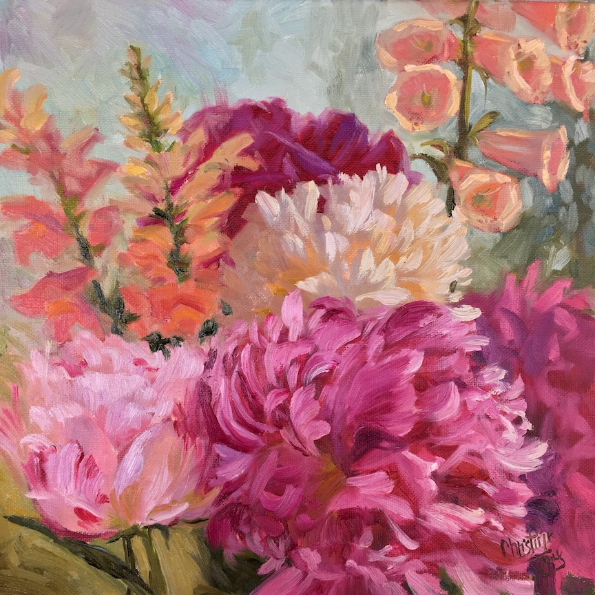 Peony Bouquet - SOLD