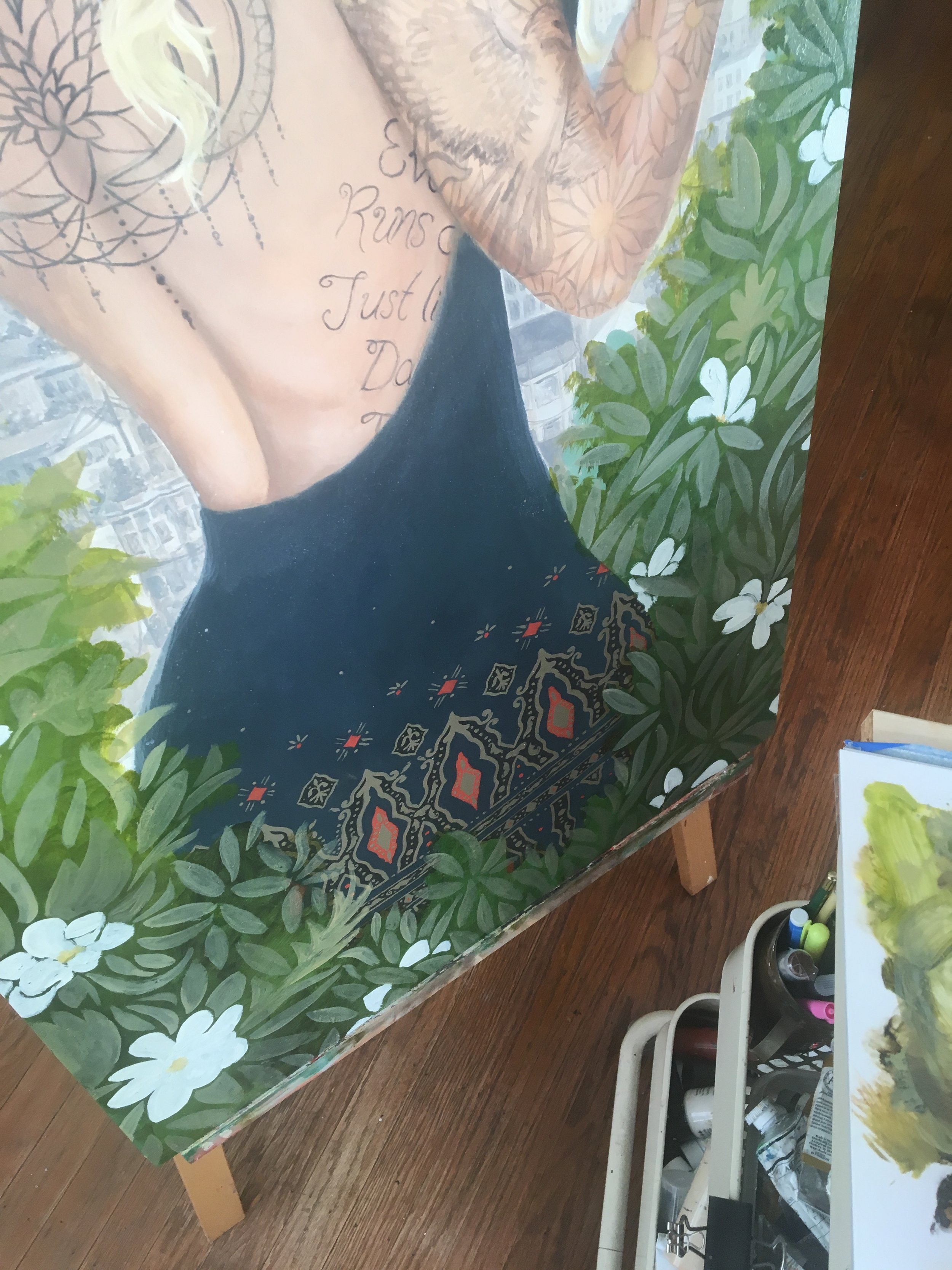 Jessica Violetta Summer Process 2
