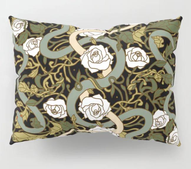 Jessica Violetta Divine Lumbar Pillow