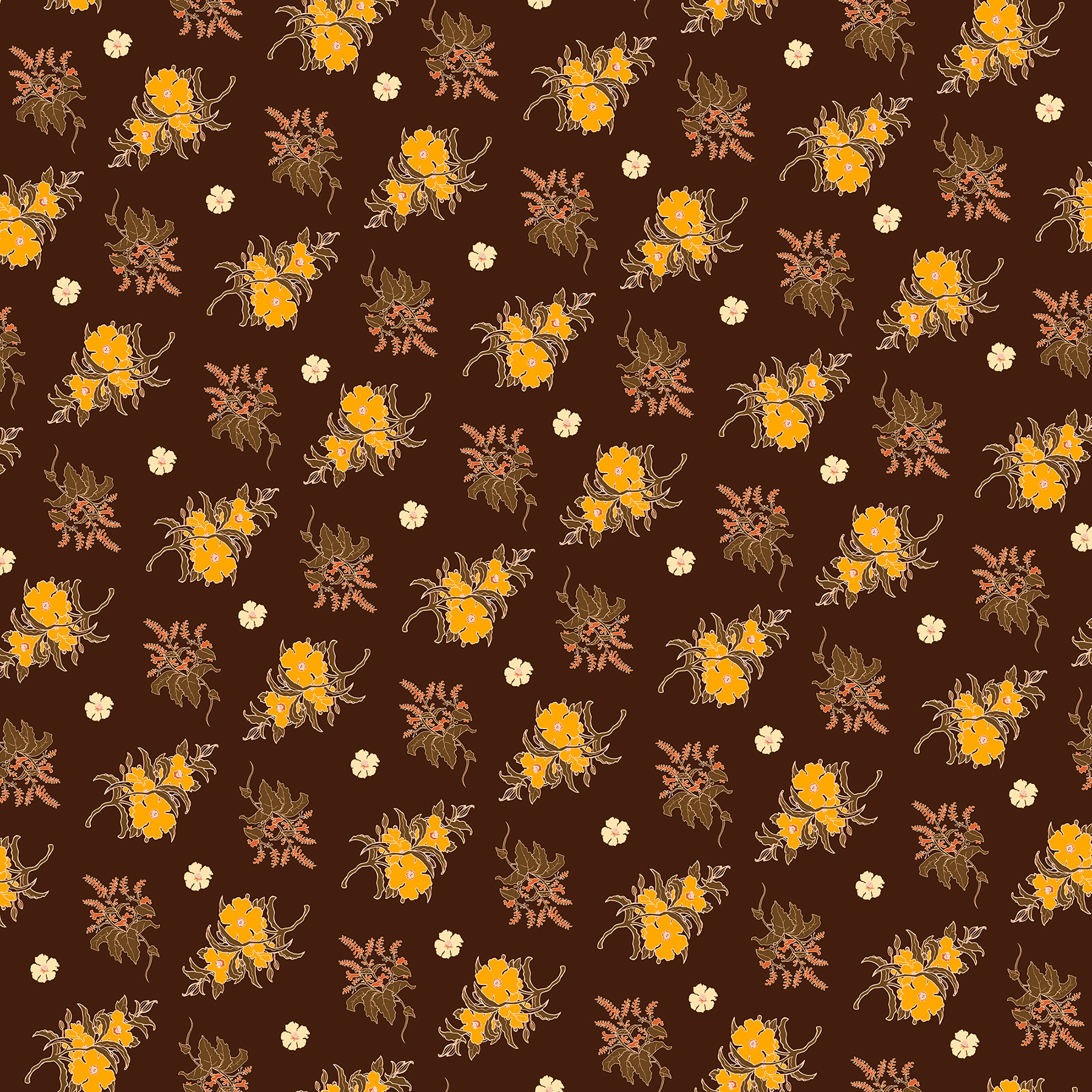 JV Floral Branch Pattern 1