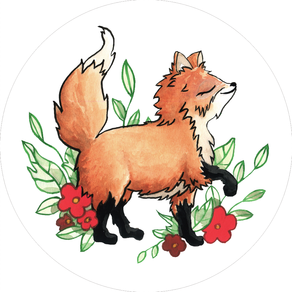 JV Popsocket Fox Design 1