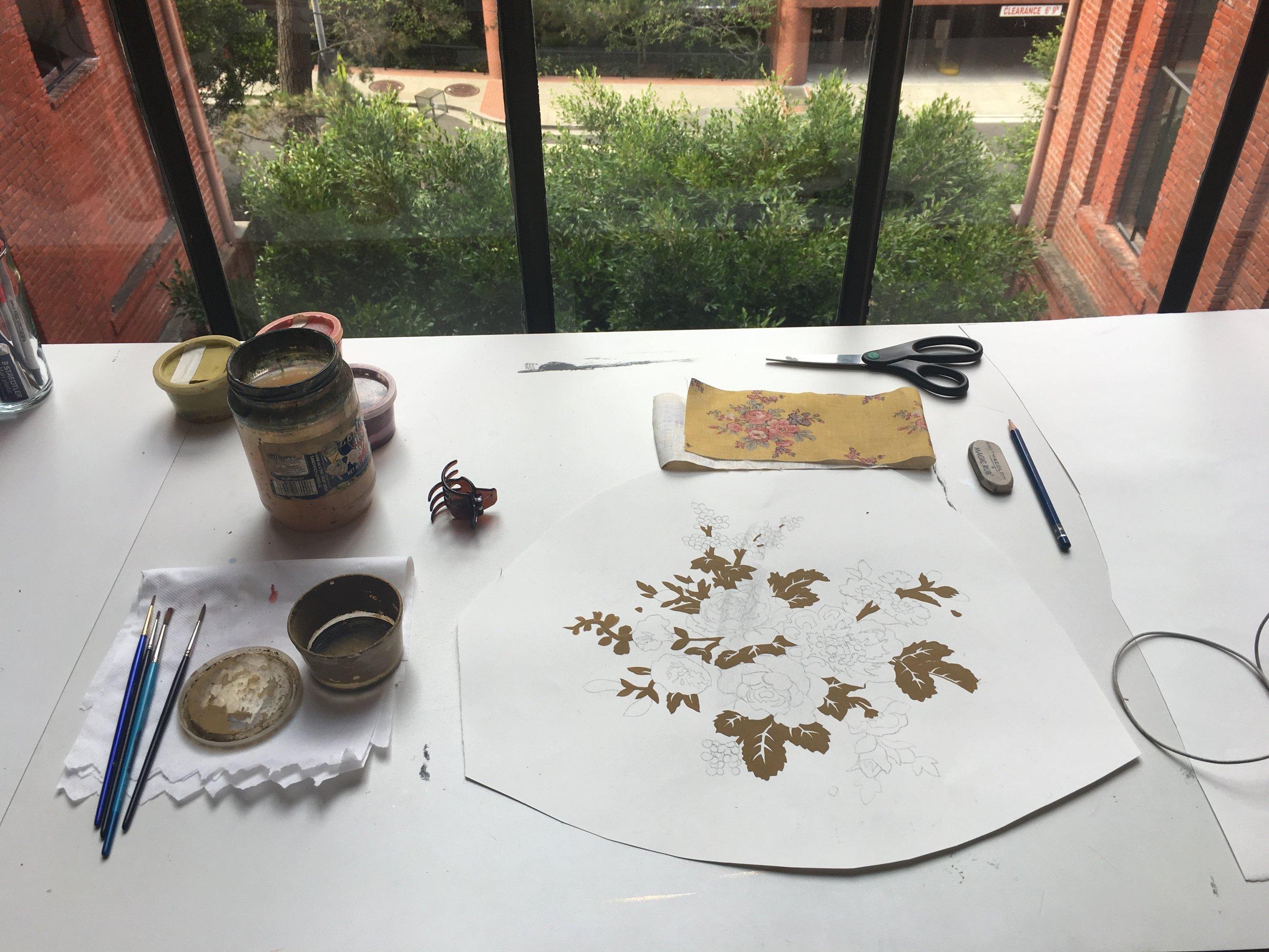JV Ditsy Floral Process 2