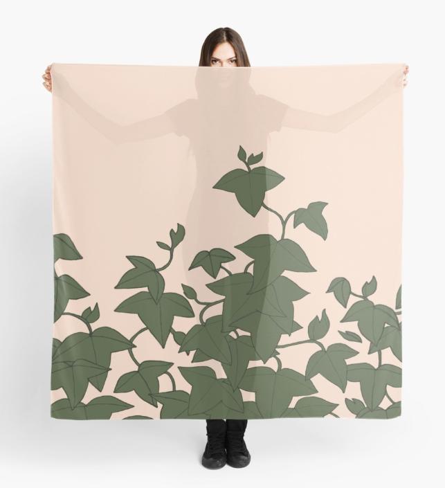 JV Ivy Textile Scarf