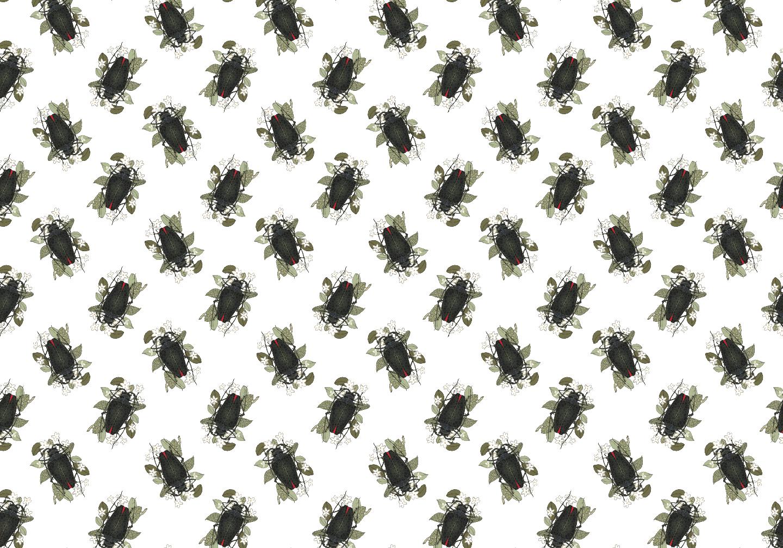 Jessica Violetta Beetle Textile 2019