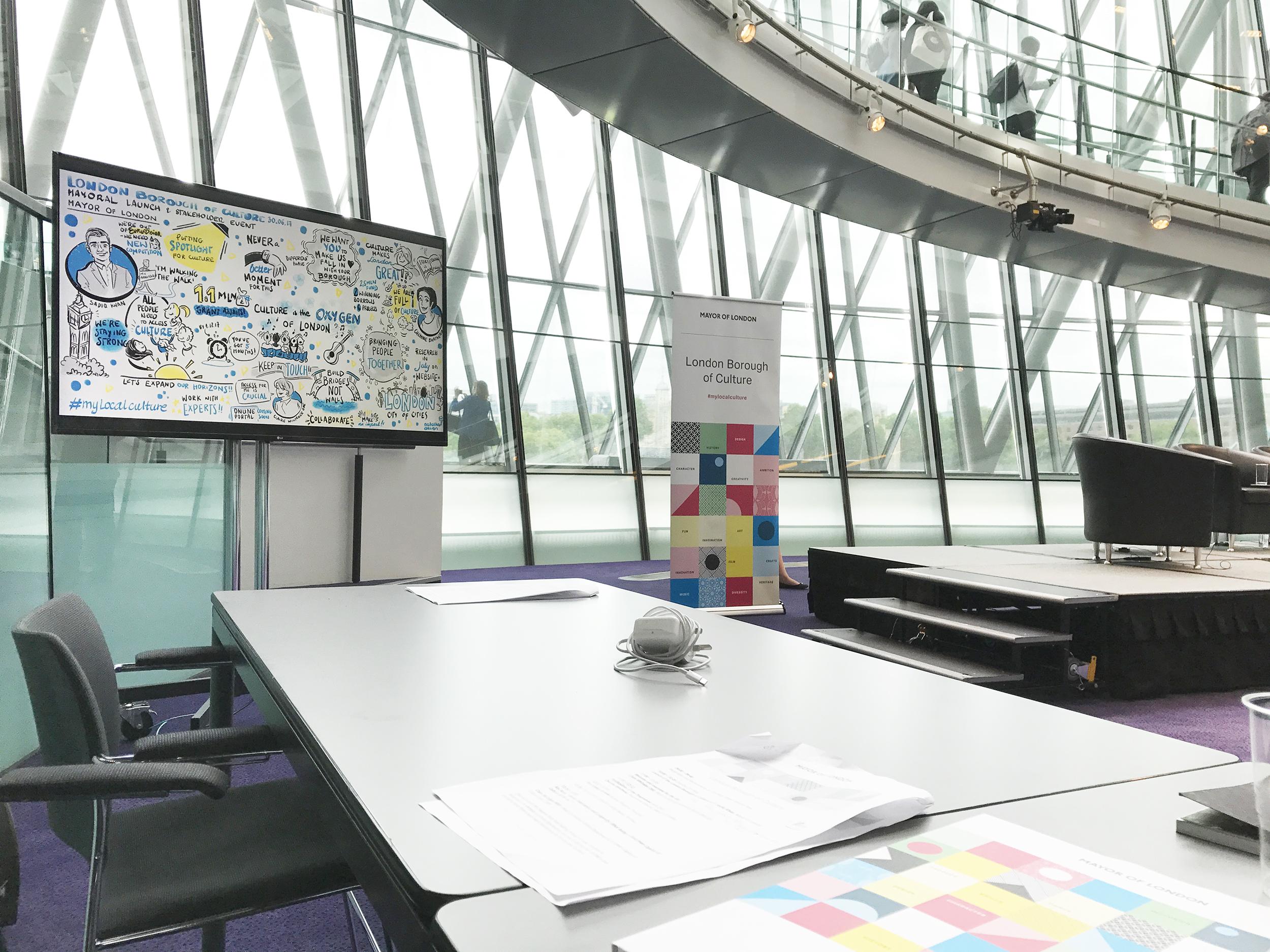 natalka design mayor of london