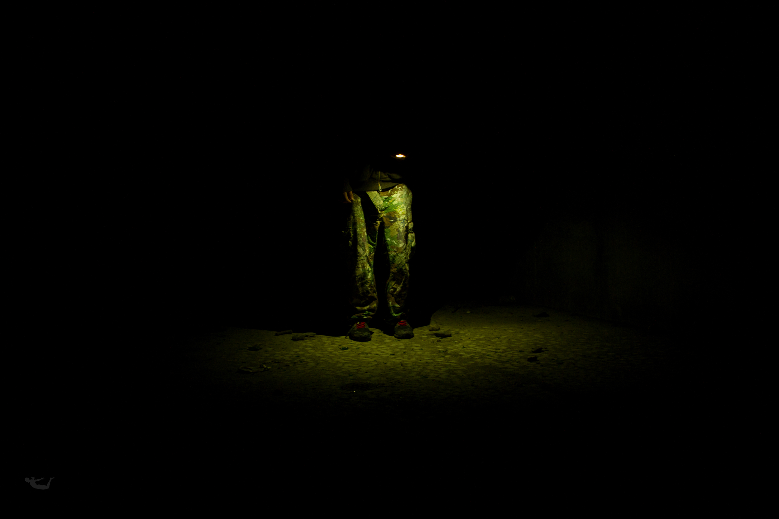 Alone in a bunker with just a cell phone? Yup.