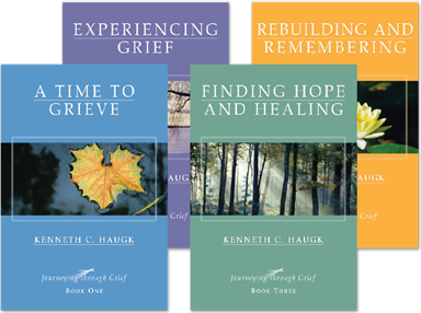 Journeying Through Grief (4-pack set)  by Kenneth C. Haugk