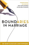 Boundaries in Marriage by H. Cloud, J. Townsend