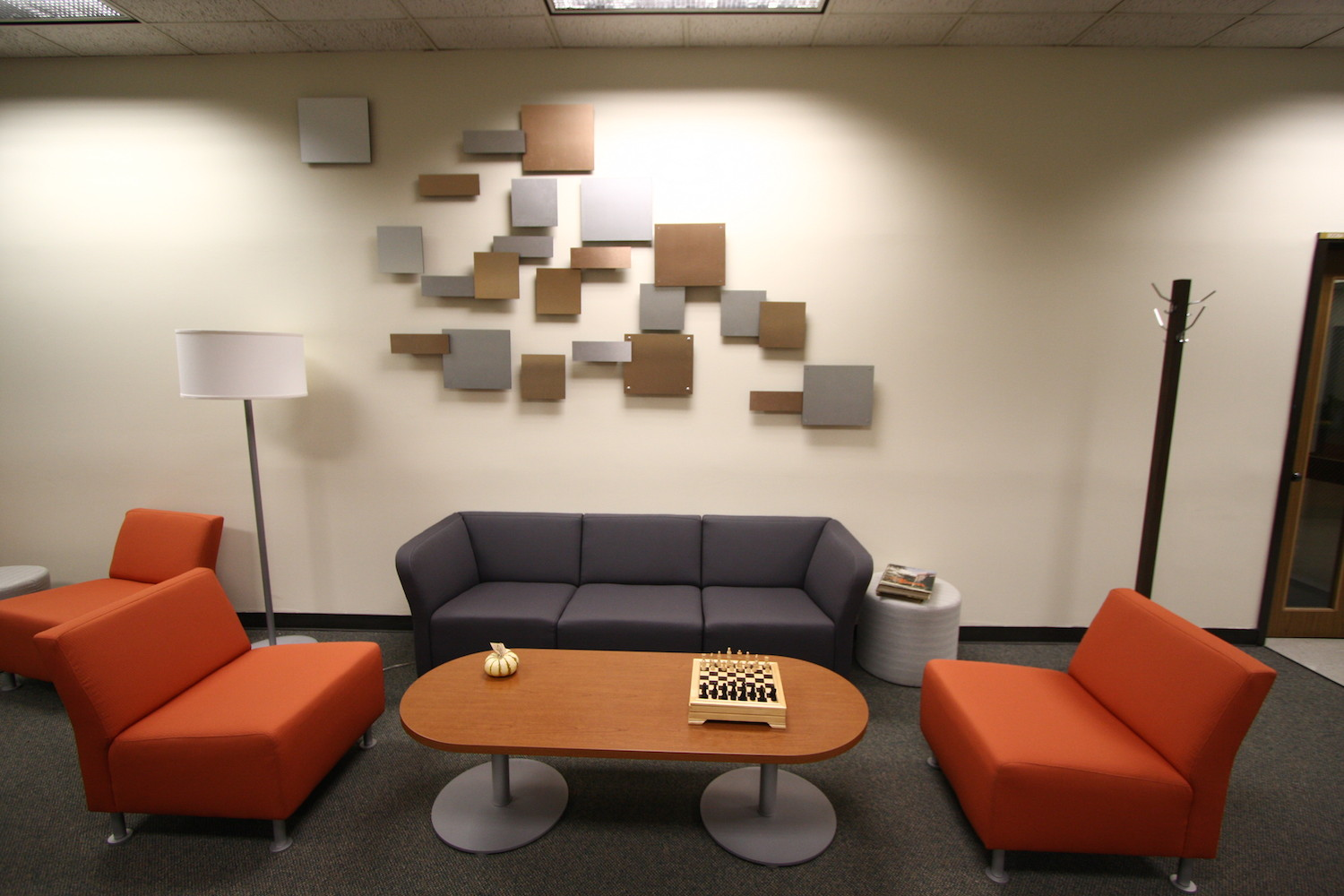 Sponsor wall display...Design by Graphic design students, in stalled by J.Beam Design + Craft