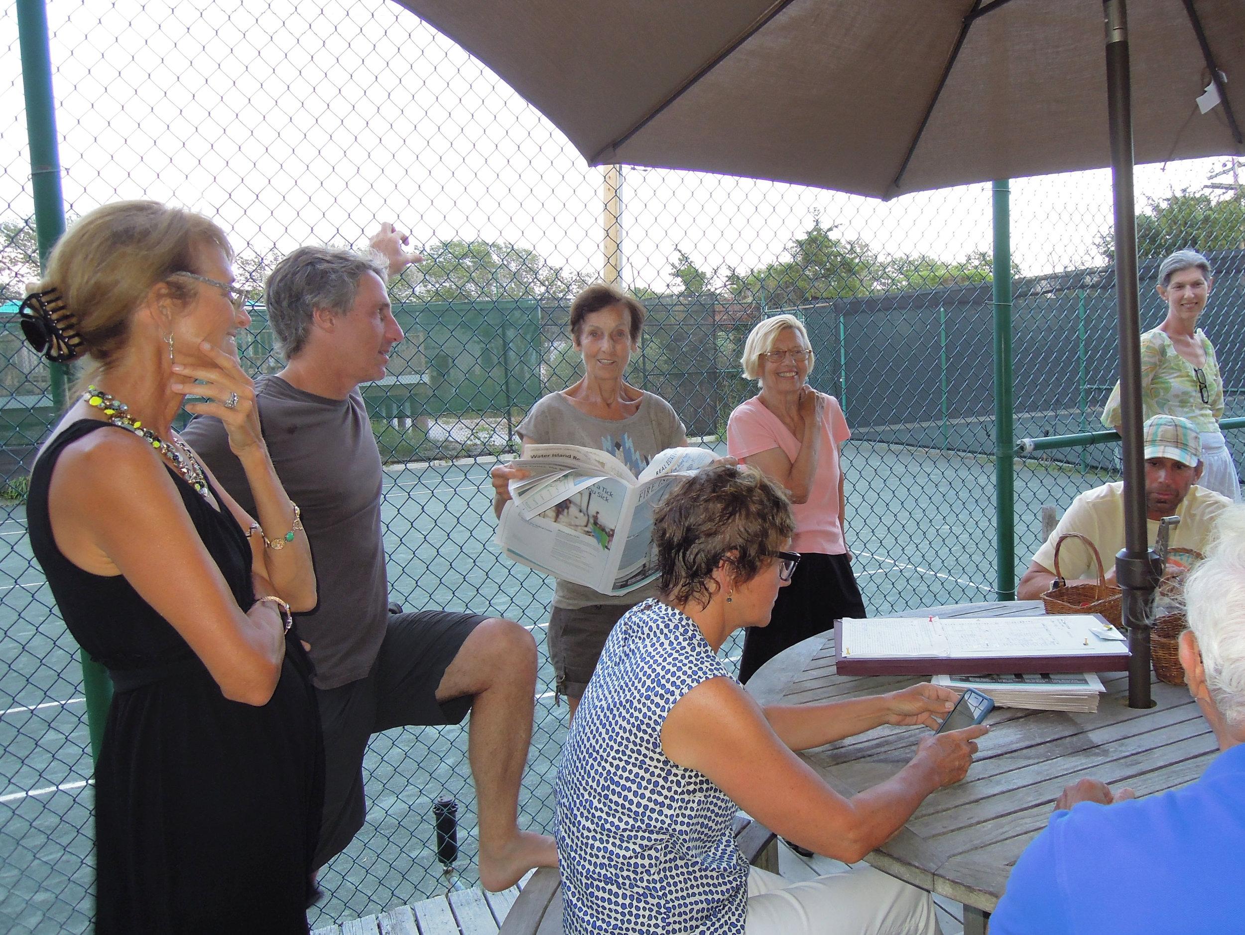 Tennis Sign Up
