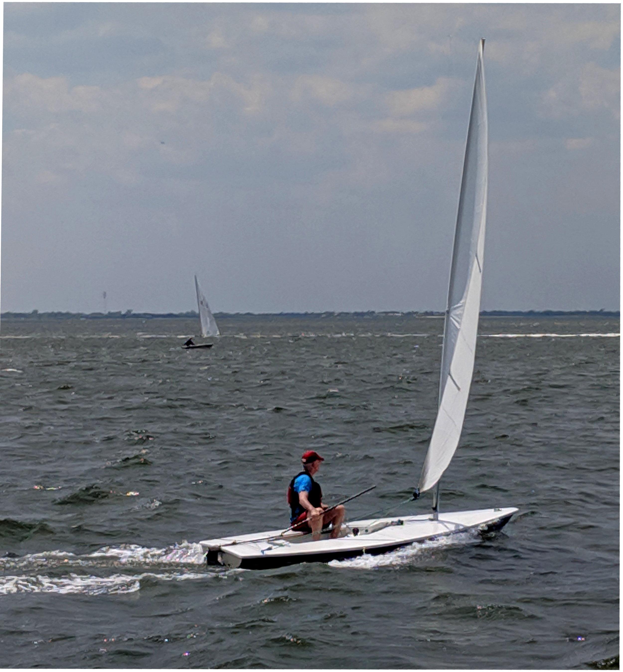 Bernard McElhone, July 14 Landlubber Race