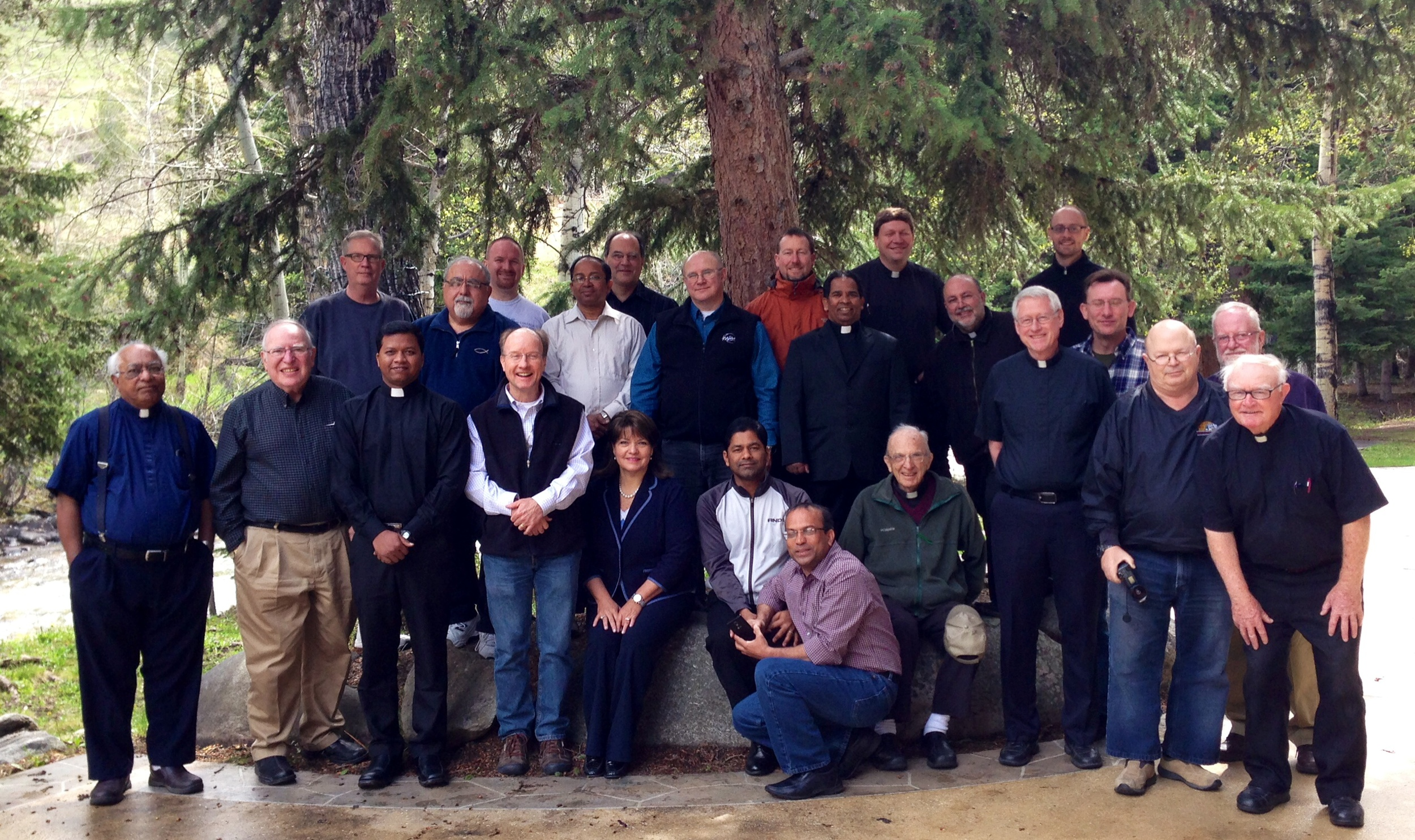 Kathleen led the 2015 Priest Retreat for the Bishop and Priests of the Diocese of Billings & Great Falls, Montana