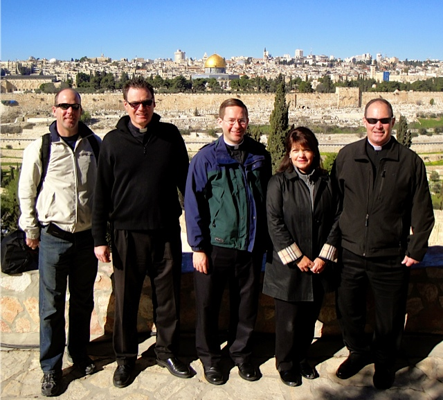Private Retreat with Priests in Jerusalem