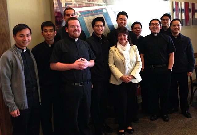 Kathleen presented a conference at St. Patrick's Seminary