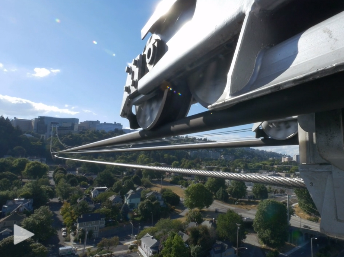 Professional videographer Timo Schlüssel captures the Portland Aerial Tram experience and then a series of trams from around the world.