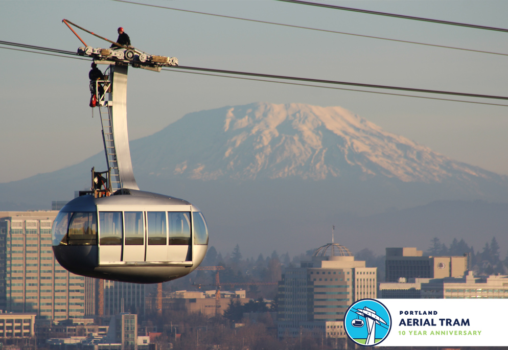 Tram maintenance is performed annually to keep the Tram operating smoothly.