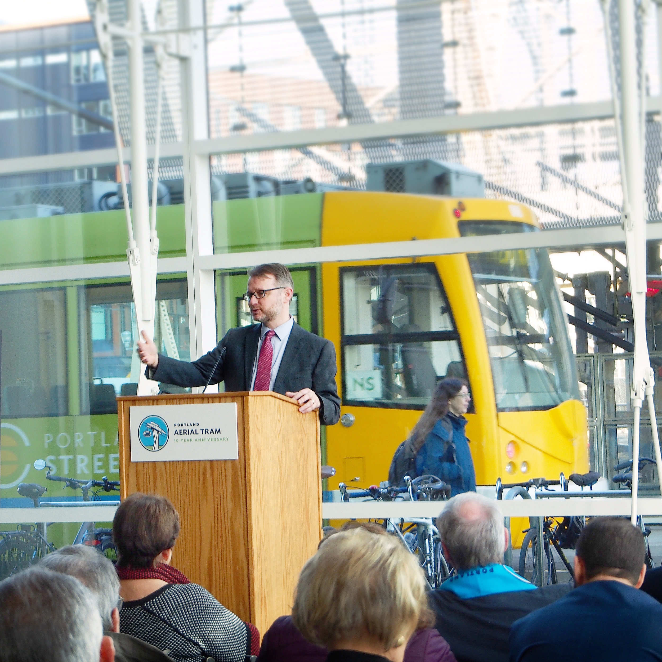 Brian Newman, OHSU Vice President, Campus Development and Administration